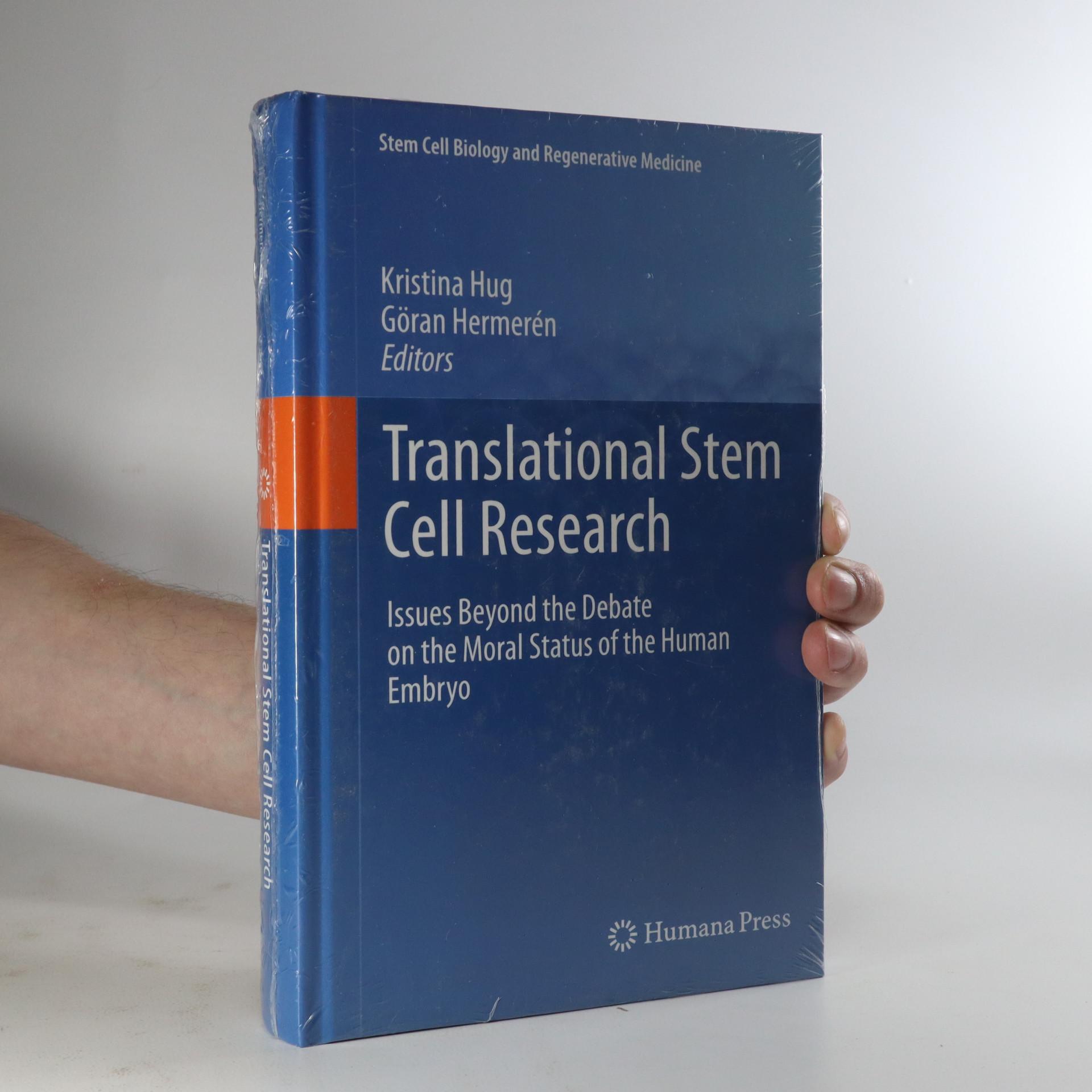 antikvární kniha Translational stem cell research, neuveden