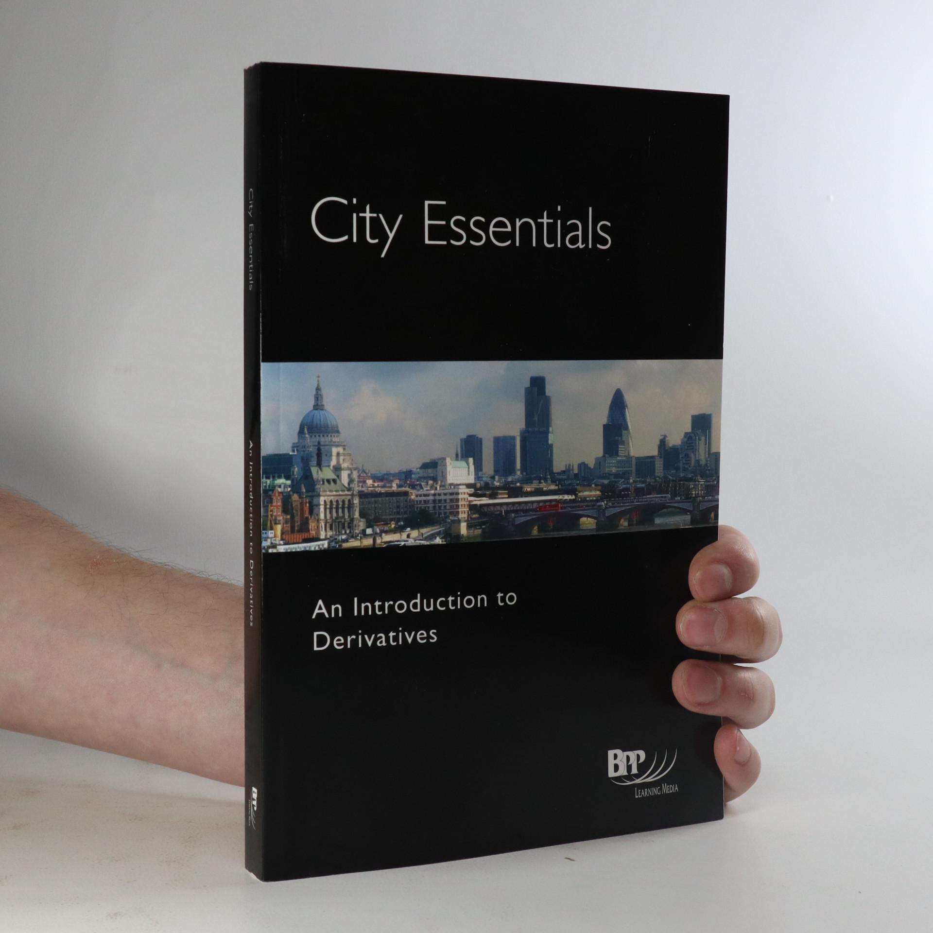 antikvární kniha City essentials. An introduction to derivatives., neuveden