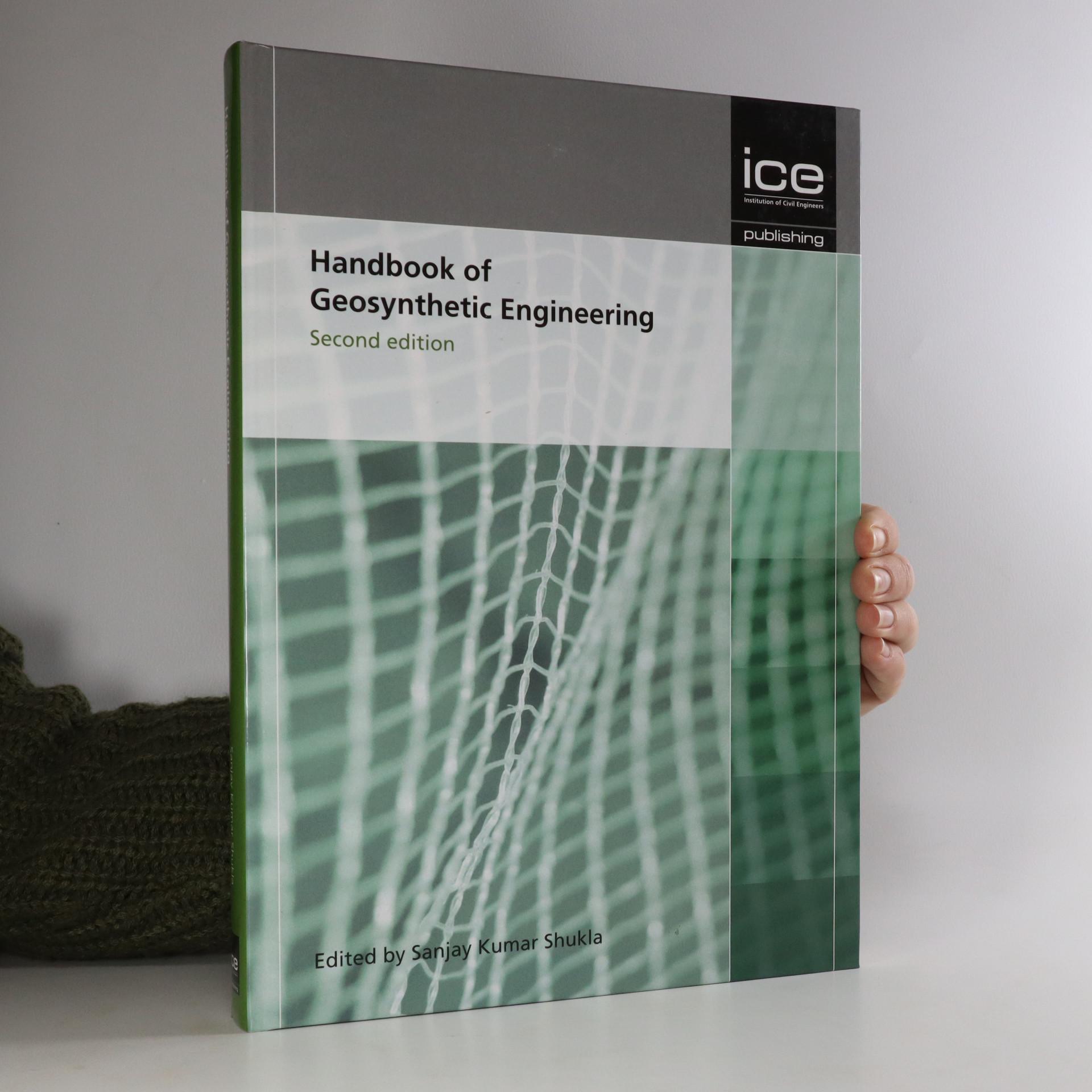 antikvární kniha Handbook of Geosynthetic Engineering, neuveden