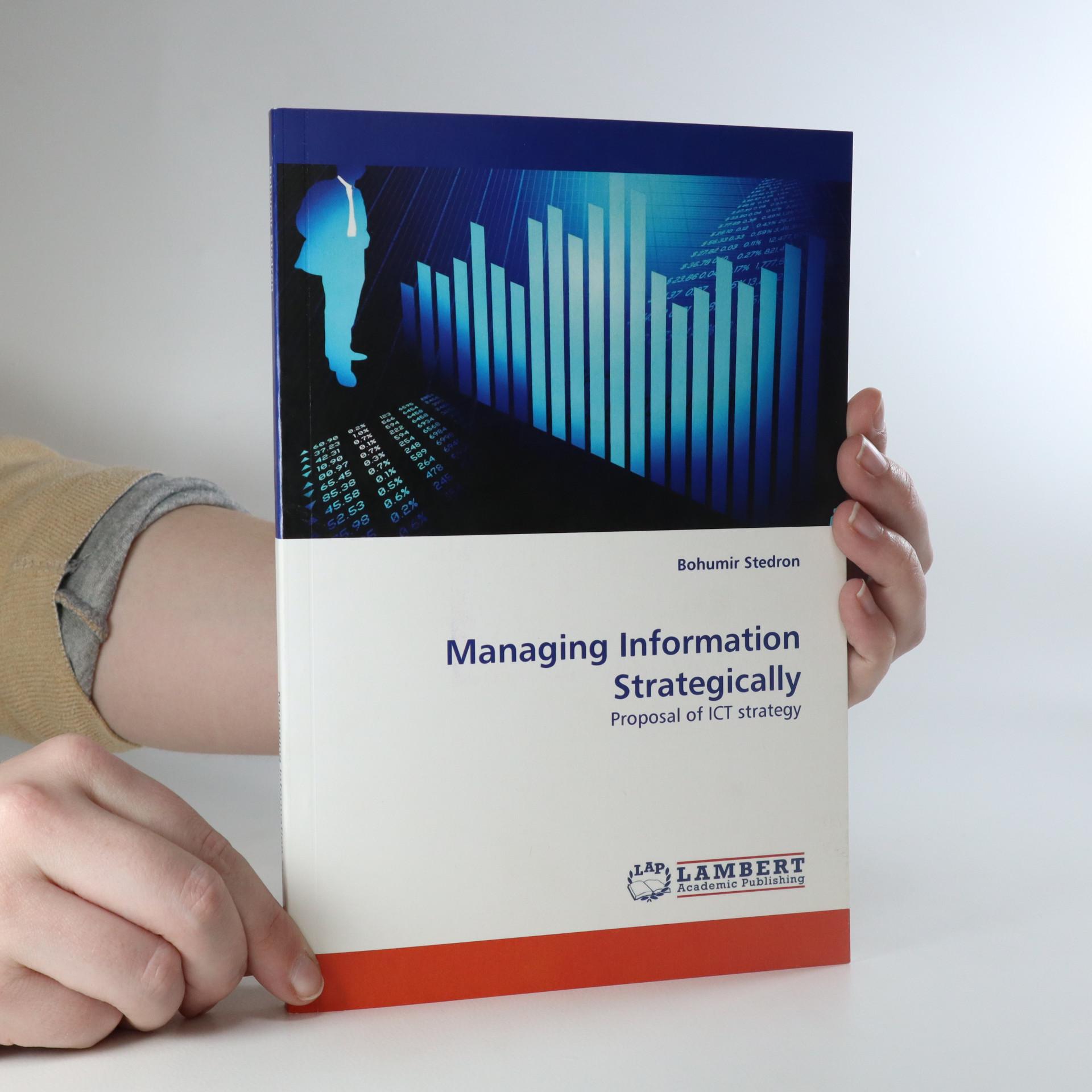 antikvární kniha Managing Information Strategically, neuveden