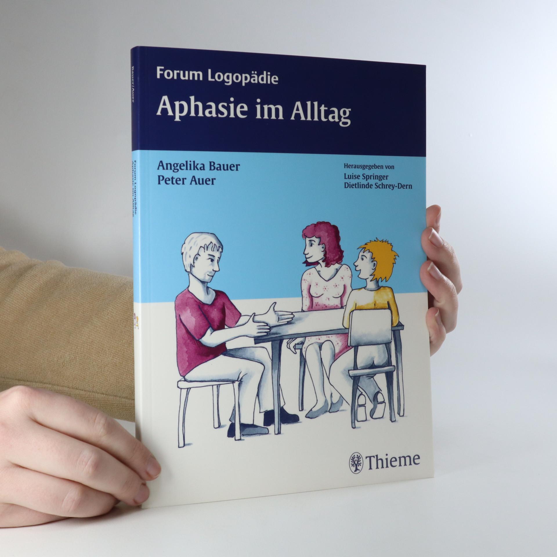 antikvární kniha Aphasie im Alltag, neuveden