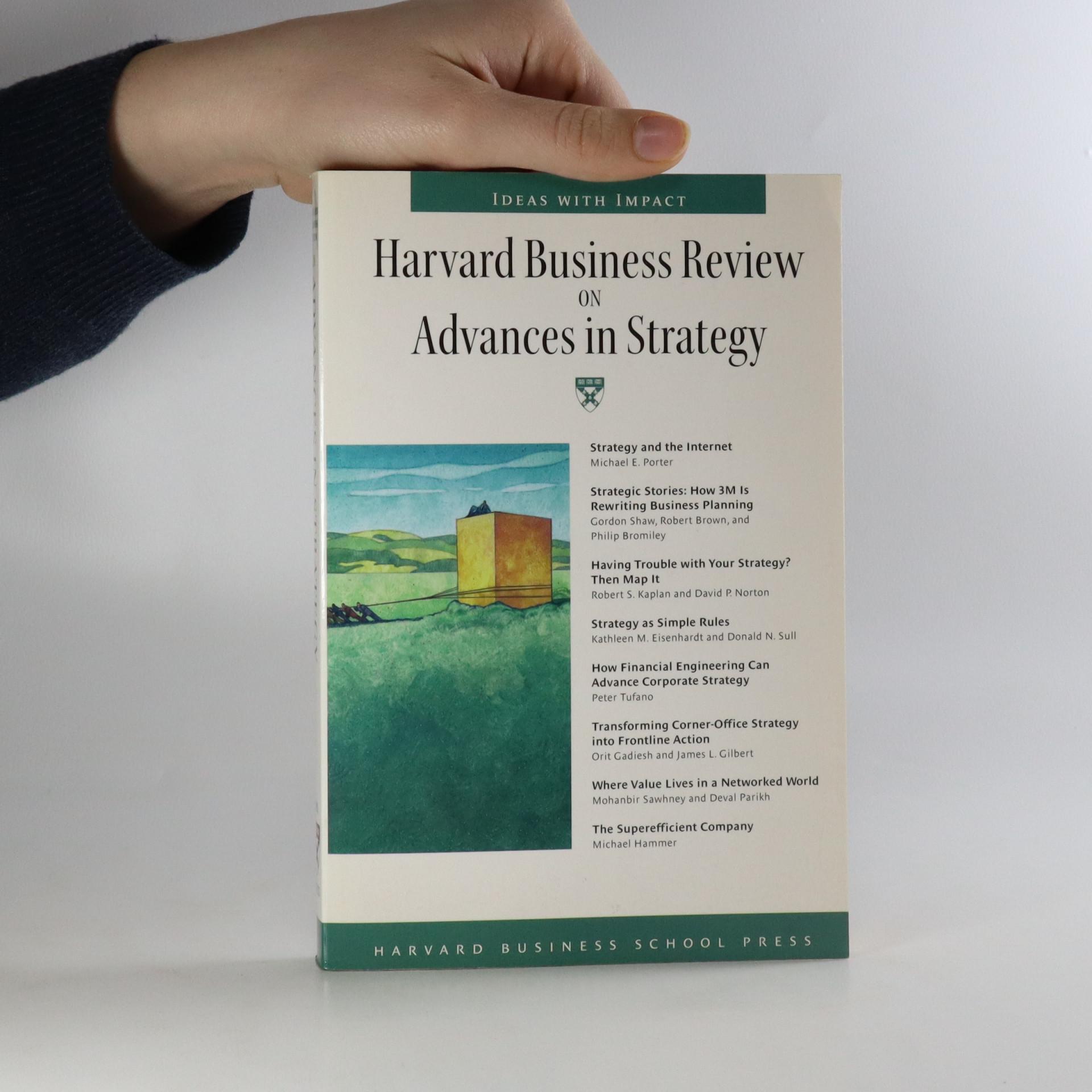 antikvární kniha The Harvard business review on advances in strategy, neuveden