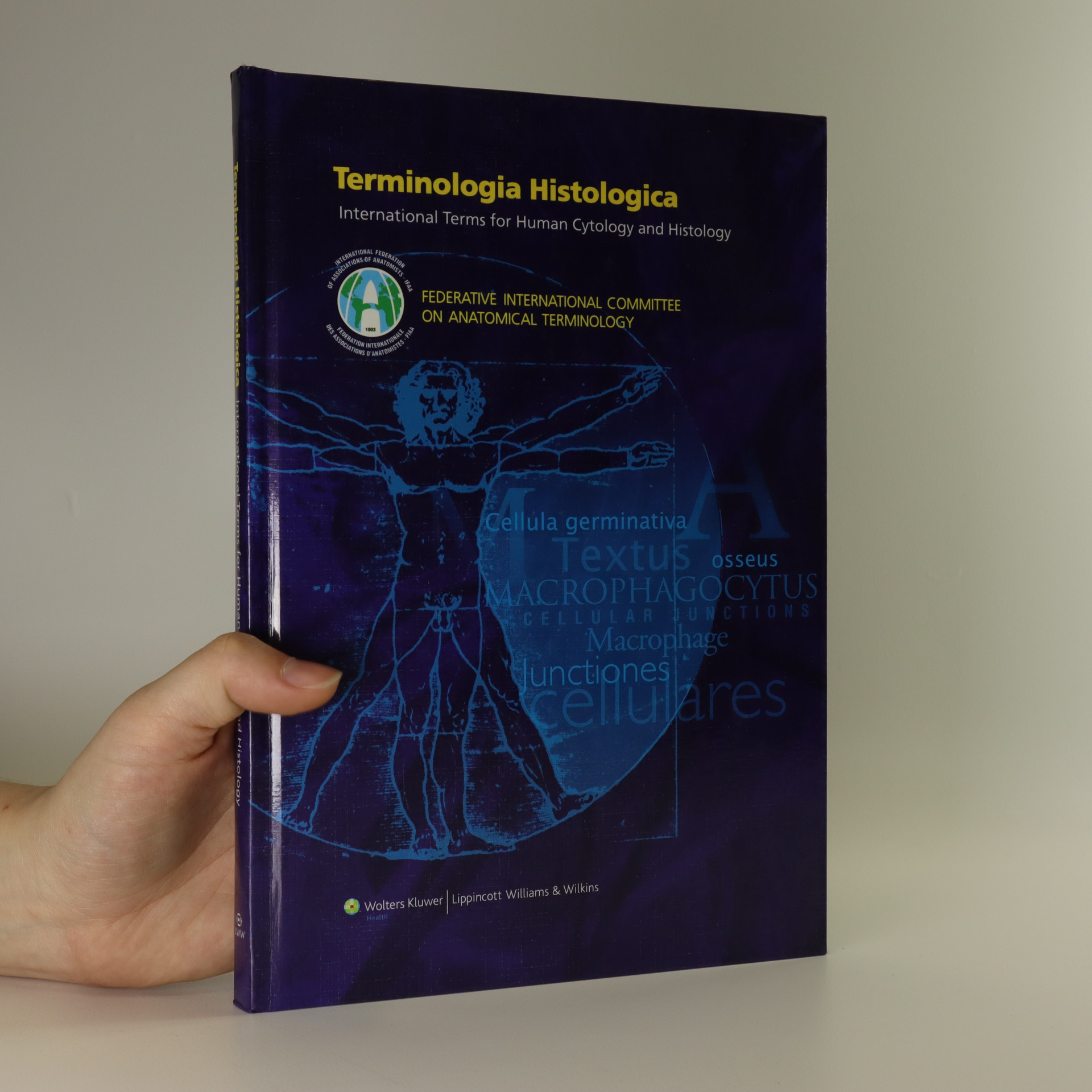 antikvární kniha Terminologia histologica. International terms for human cytology and histology, neuveden