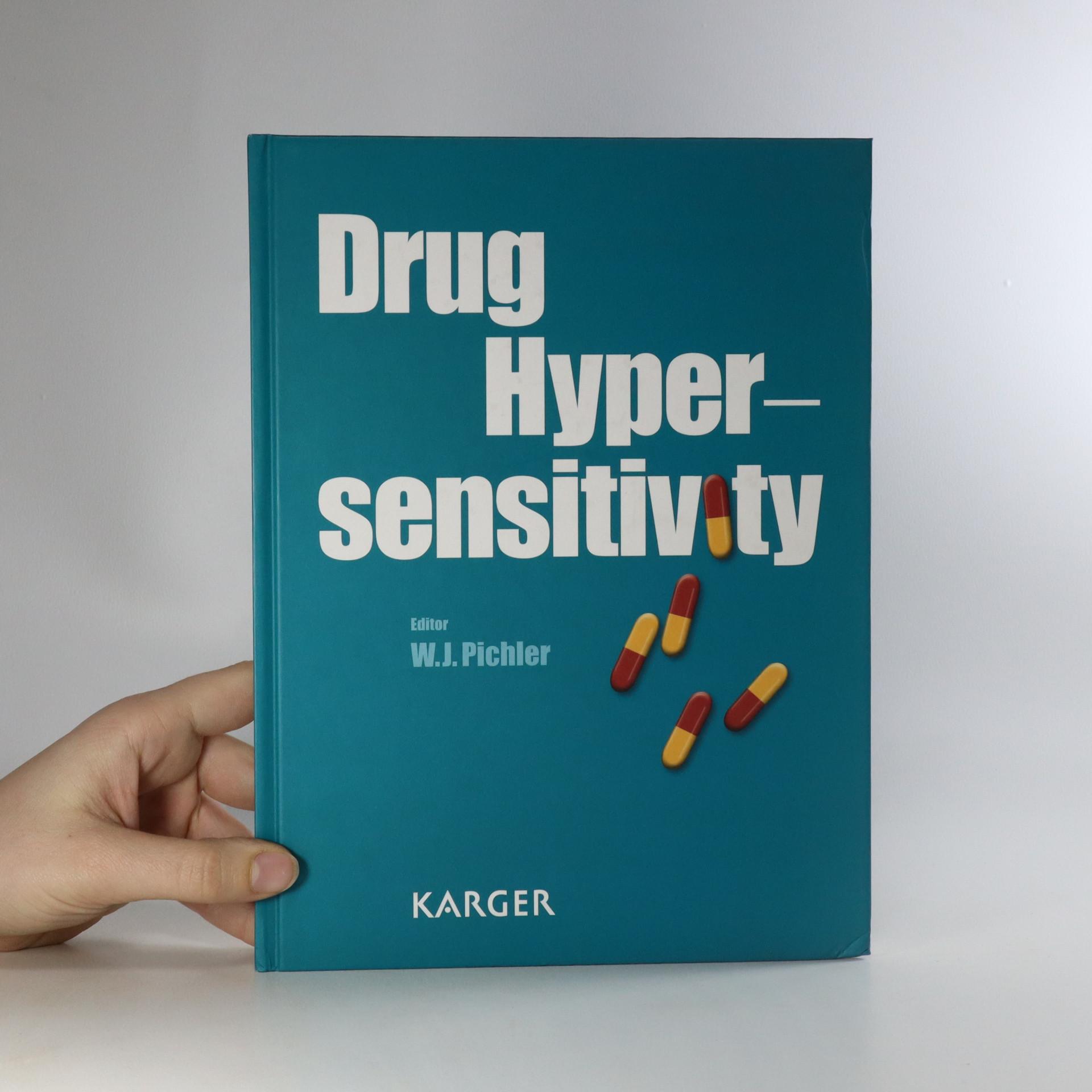 antikvární kniha Drug Hypersensitivity, neuveden