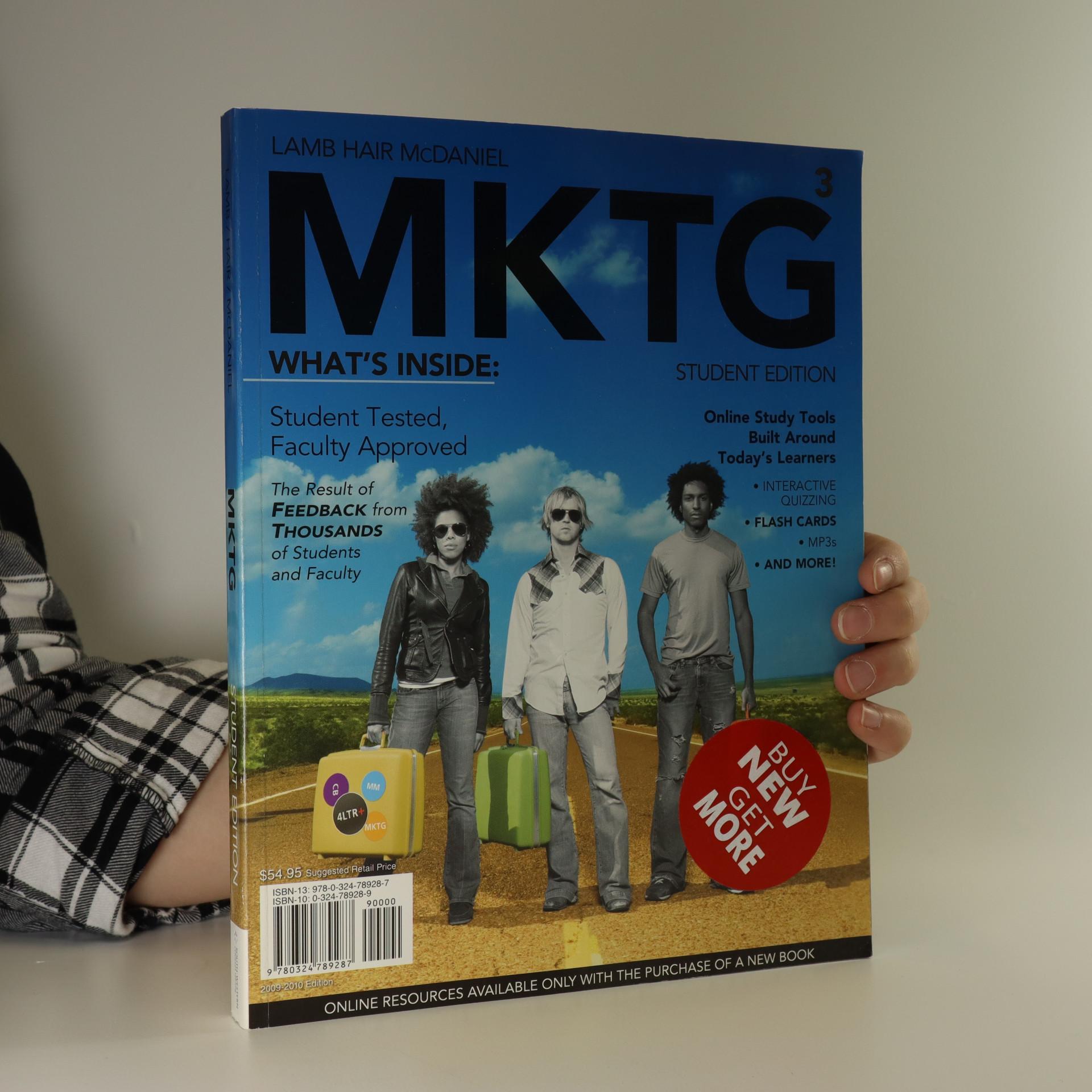 antikvární kniha MKTG3. Student edition, neuveden