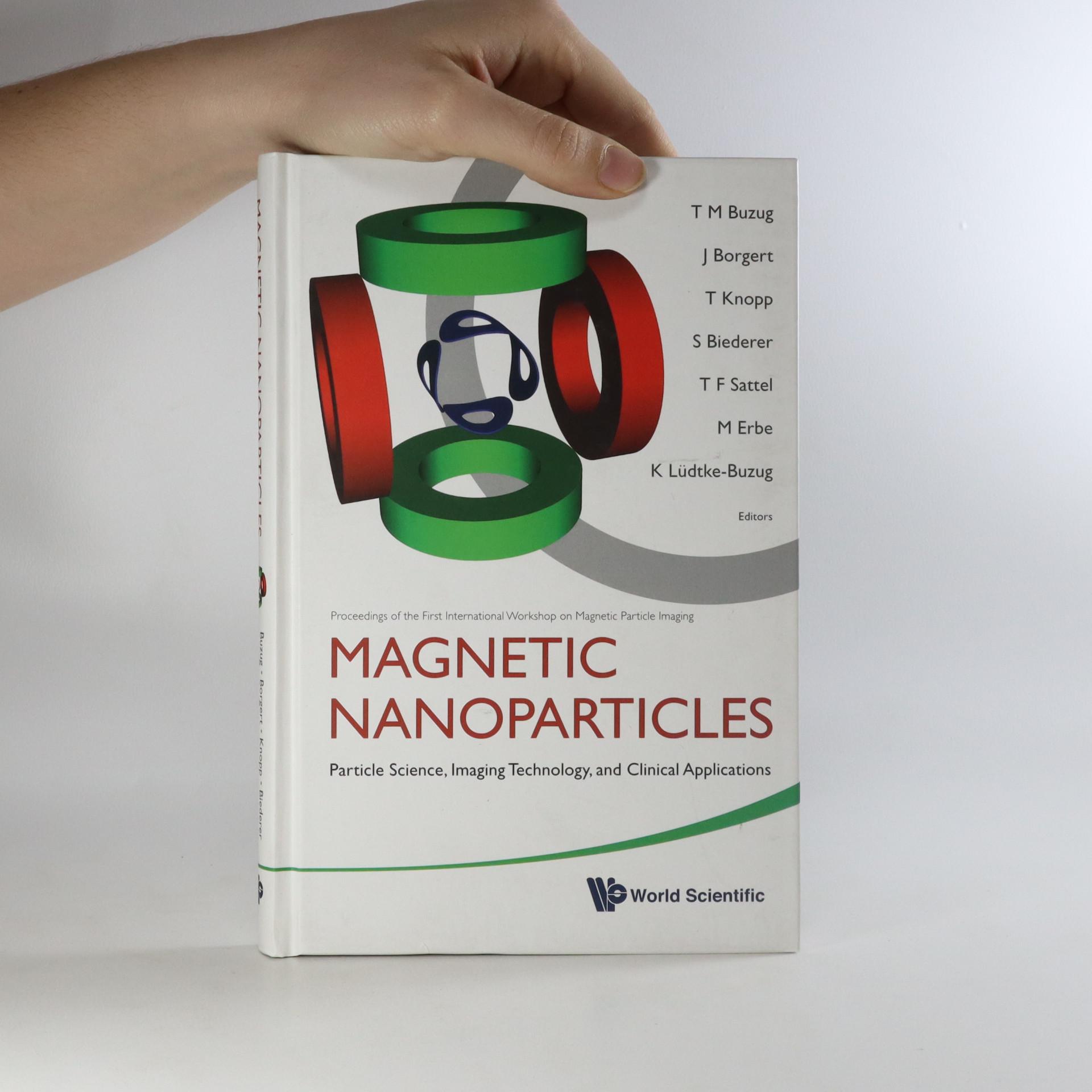 antikvární kniha Magnetic Nanoparticles, neuveden