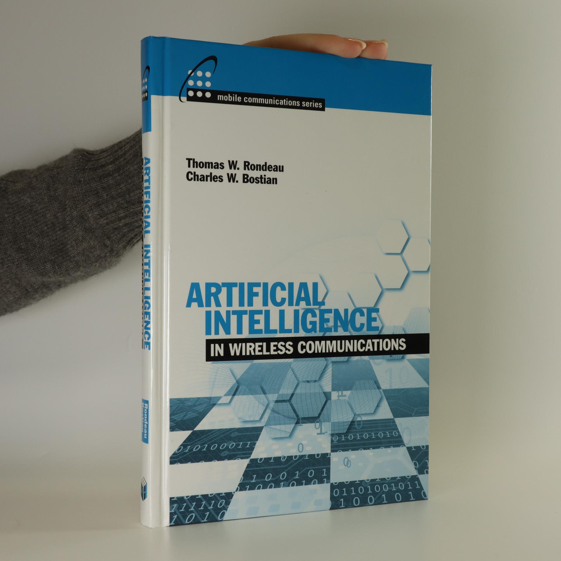 antikvární kniha Artificial intelligence in wireless communications, neuveden