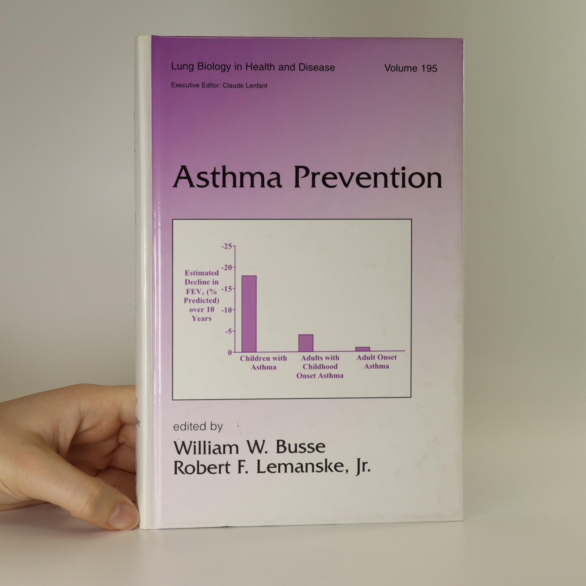 antikvární kniha Asthma prevention, neuveden