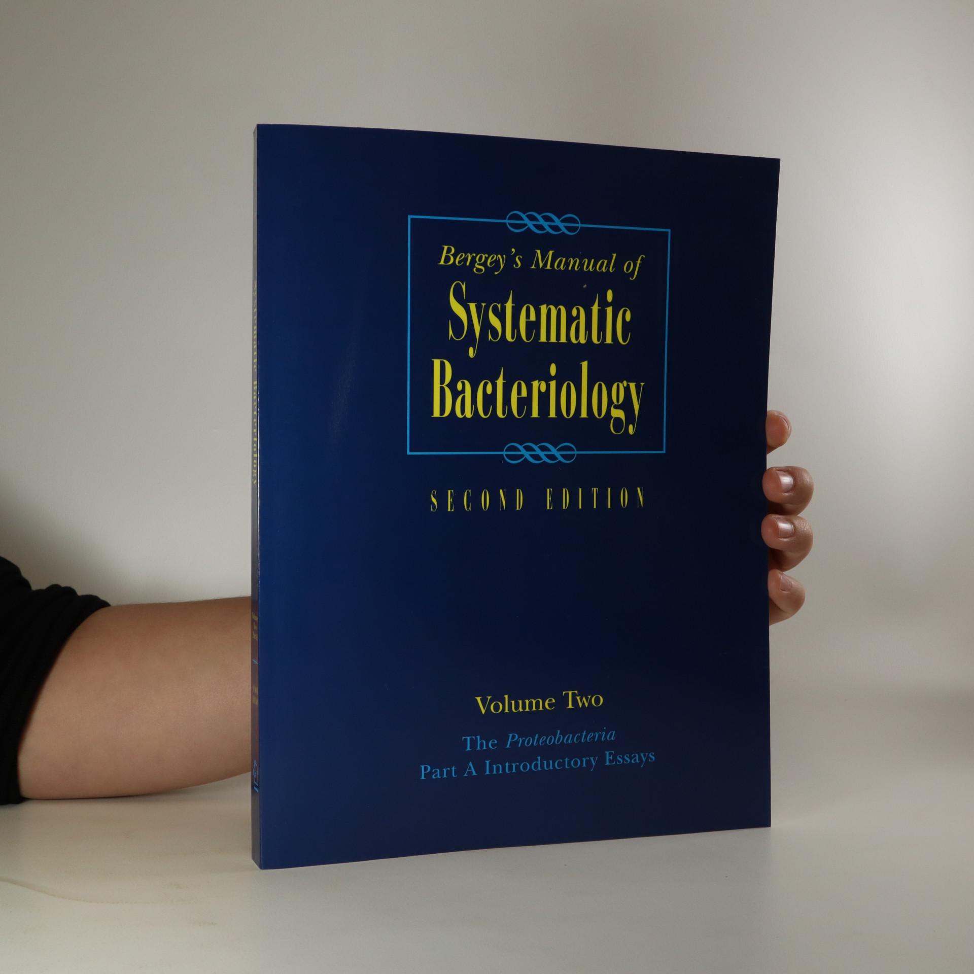 antikvární kniha Bergey's Manual of Systematic Bacteriology, neuveden