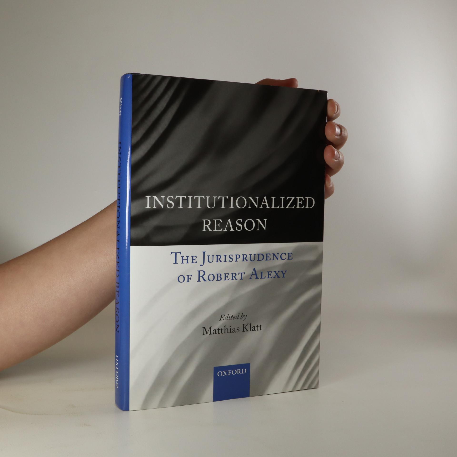 antikvární kniha Institutionalized Reason, neuveden