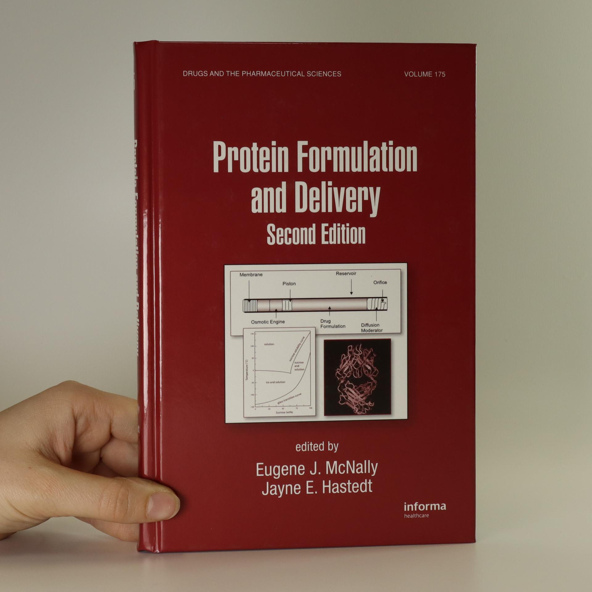antikvární kniha Protein formulation and delivery, neuveden