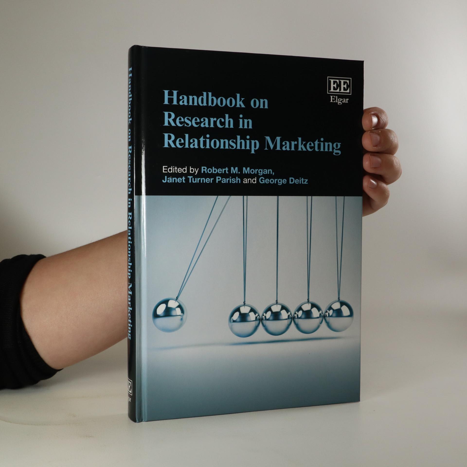 antikvární kniha Handbook on Research in Relationship Marketing, neuveden