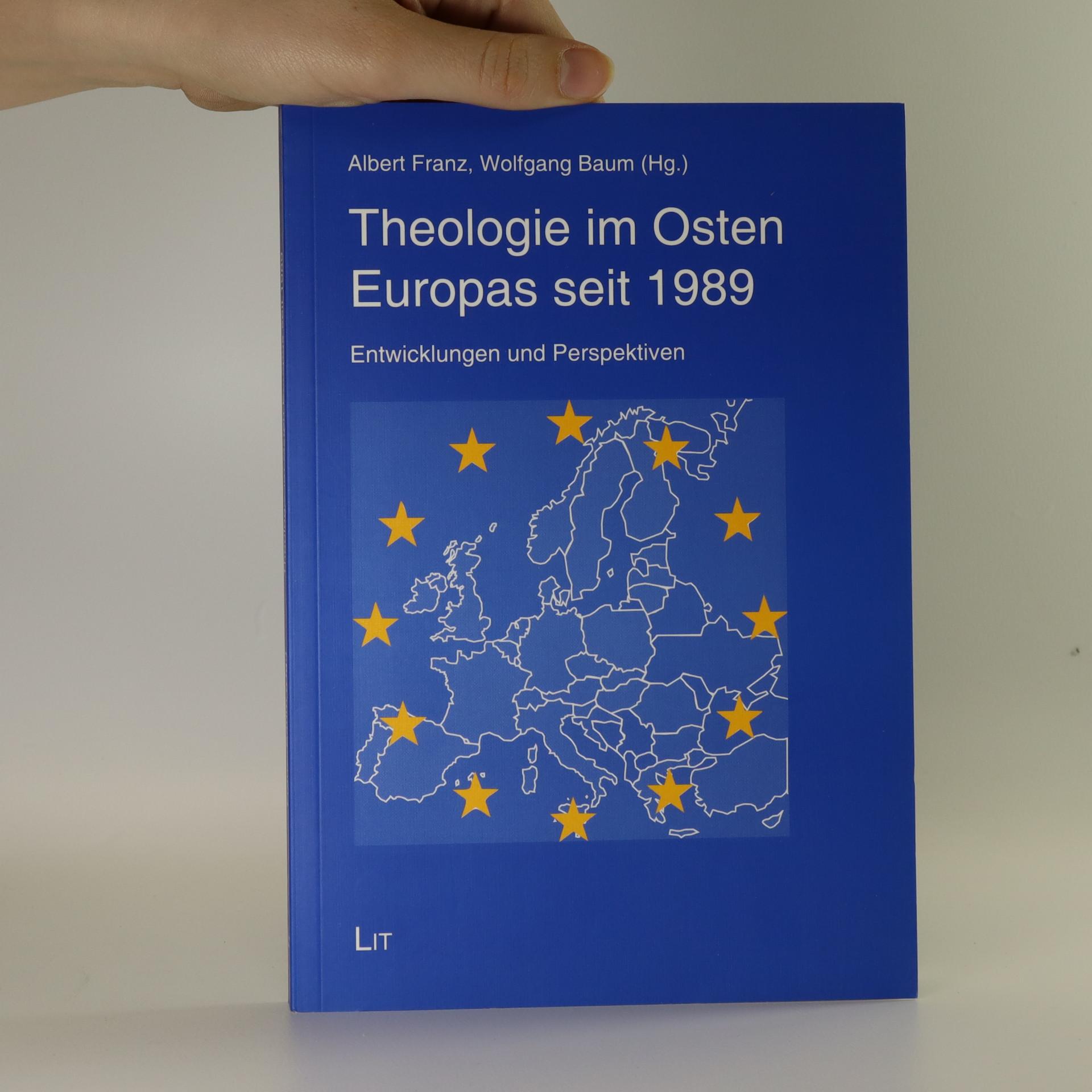 antikvární kniha Theologie im Osten Europas seit 1989, neuveden