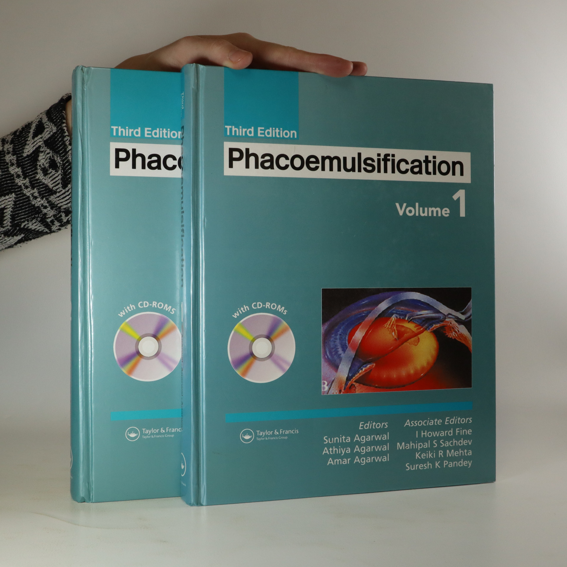 antikvární kniha Phacoemulsification. Volume 1-2, neuveden