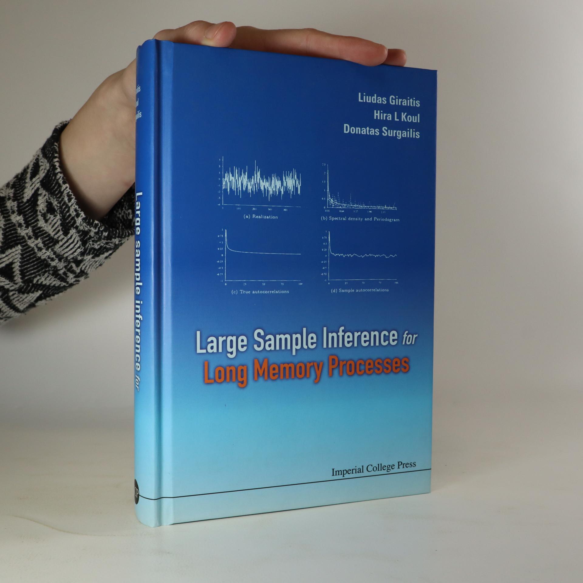 antikvární kniha Large Sample Inference for Long Memory Processes, neuveden