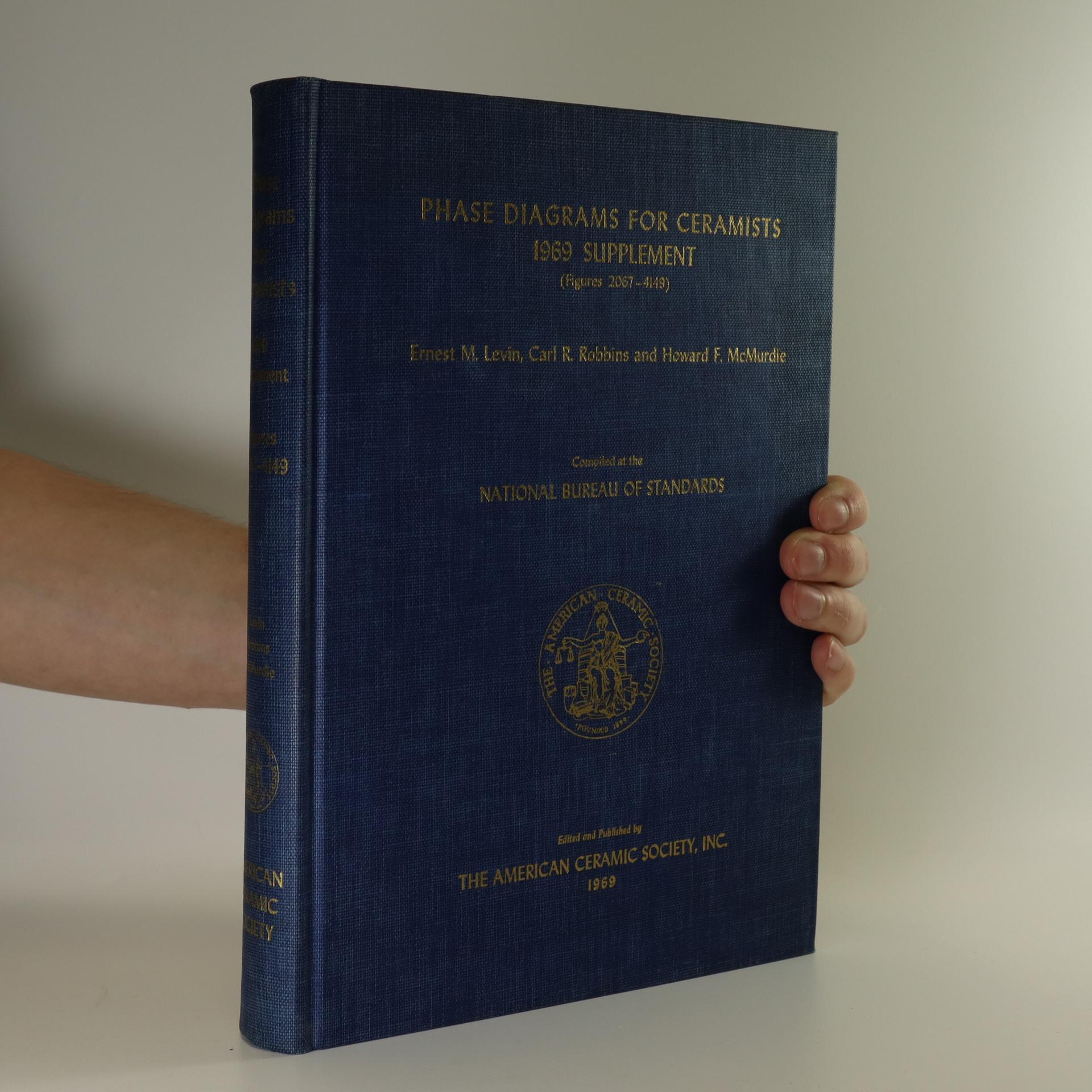 antikvární kniha Phase Diagrams for Ceramists 1969 Supplement, 1969