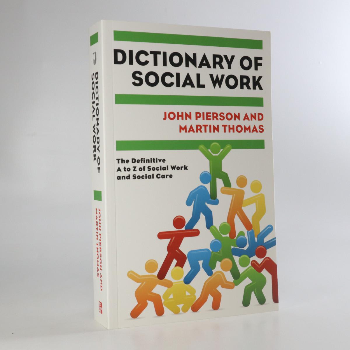 antikvární kniha Dictionary of social work, 2010