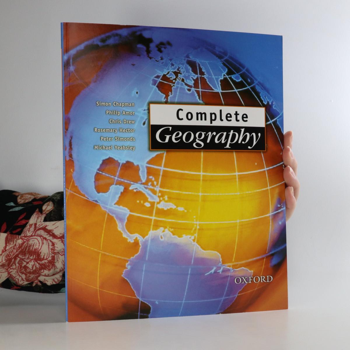 antikvární kniha Complete Geography, 1998