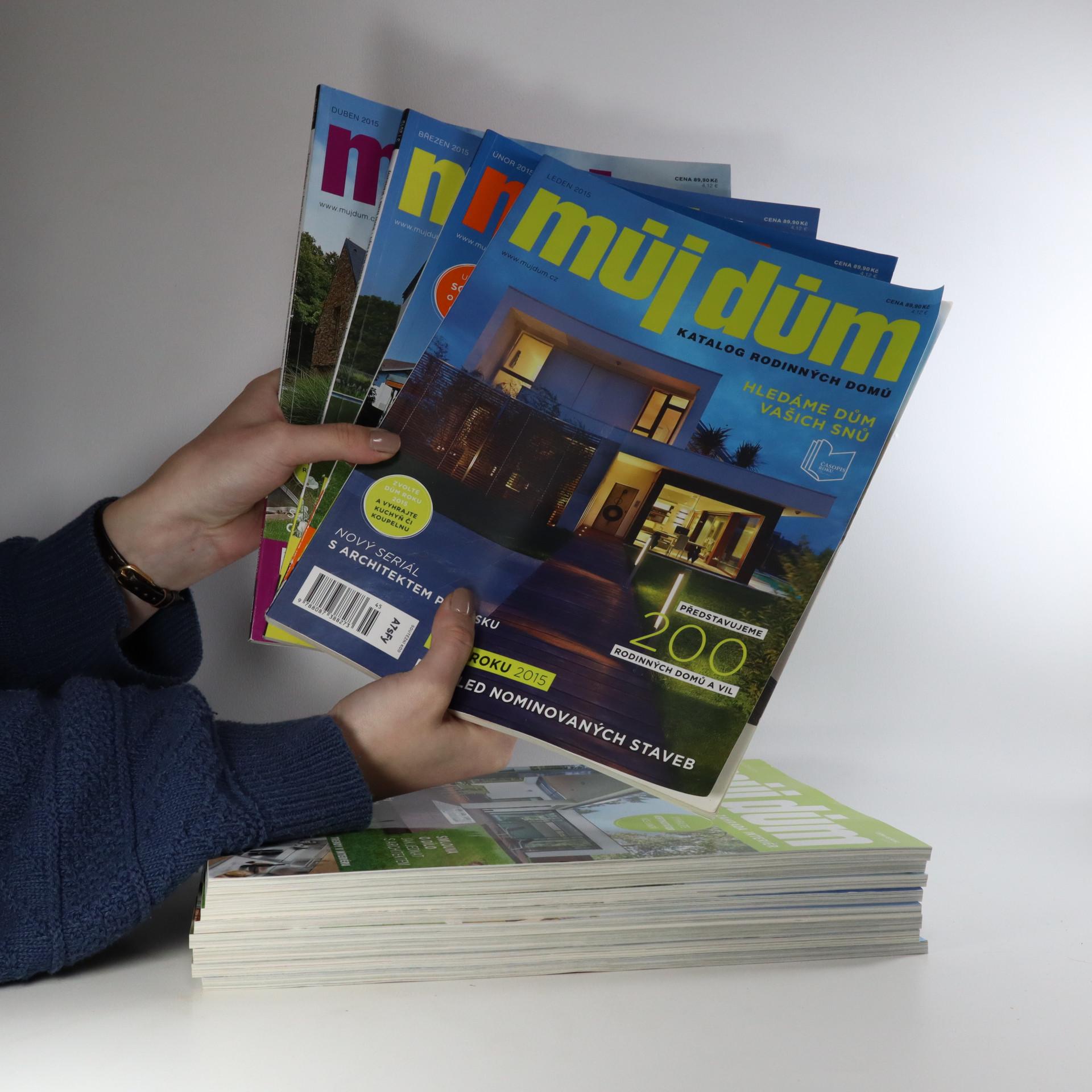 antikvární kniha 12x Můj dům. Katalog rodinných domů (12 sešitů), neuveden