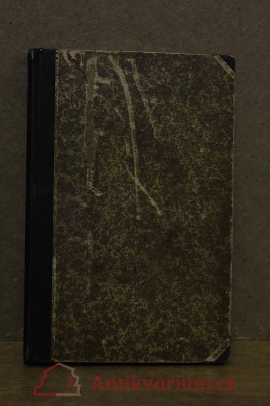 antikvární kniha Římské reálie, 1898