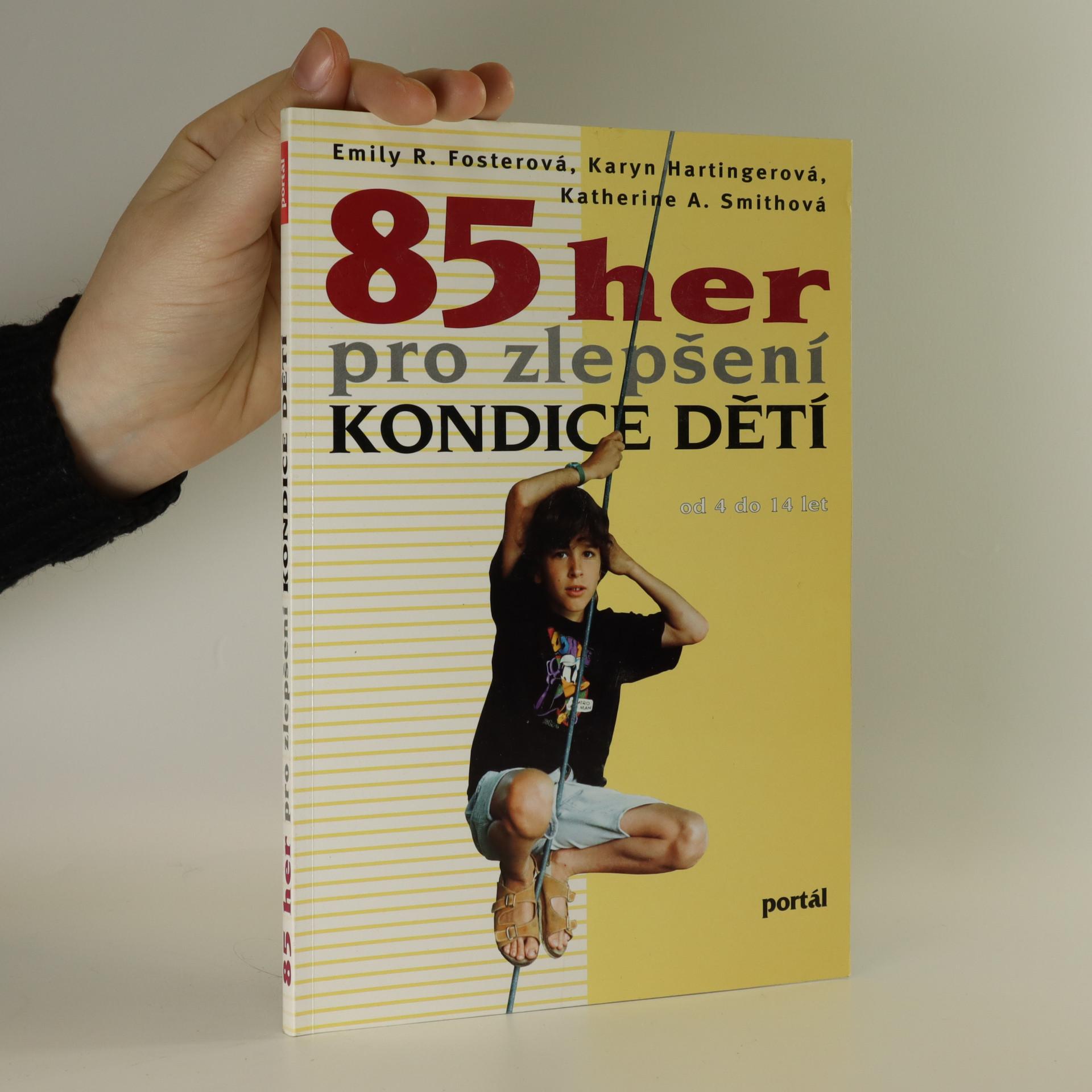 antikvární kniha 85 her pro zlepšení kondice dětí, 1997
