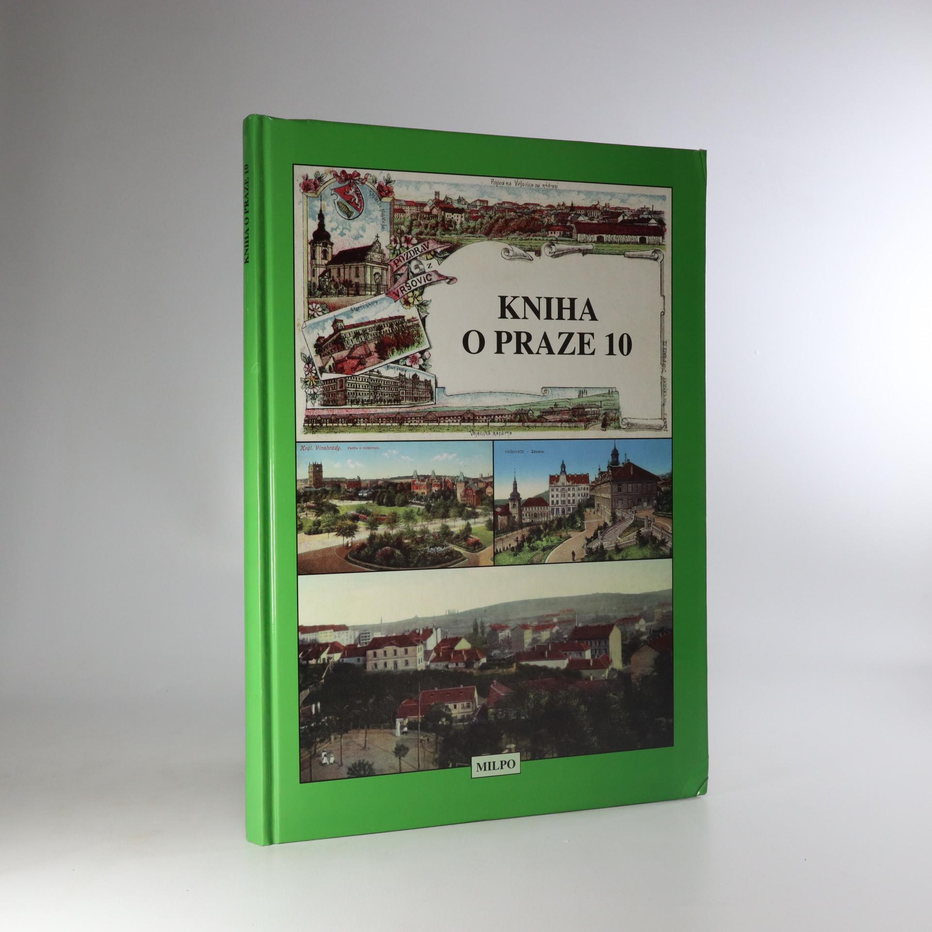 antikvární kniha Kniha o Praze 10, 1997