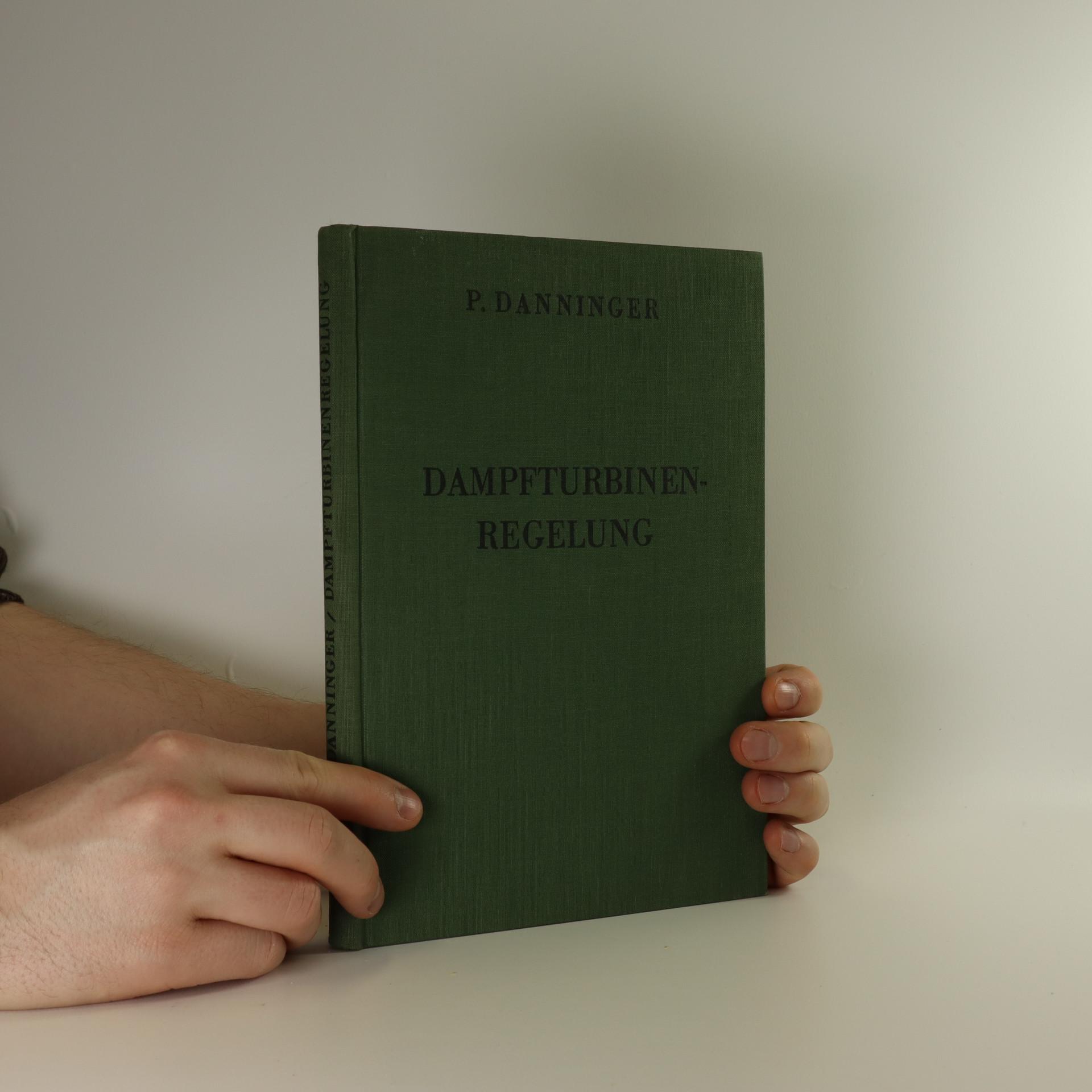 antikvární kniha Die Dampfturbinenregelung, 1934