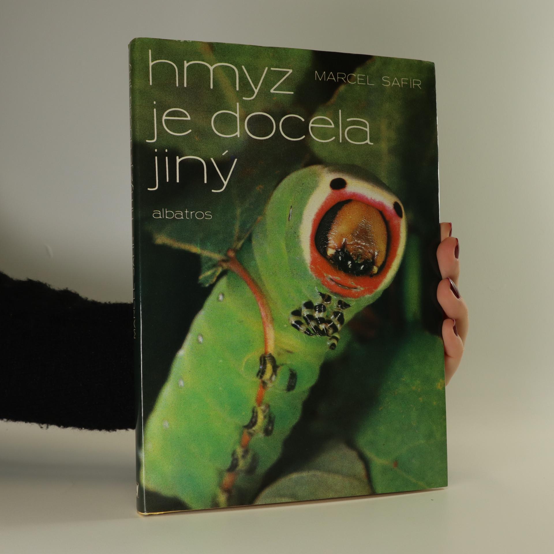 antikvární kniha Hmyz je docela jiný, 1986