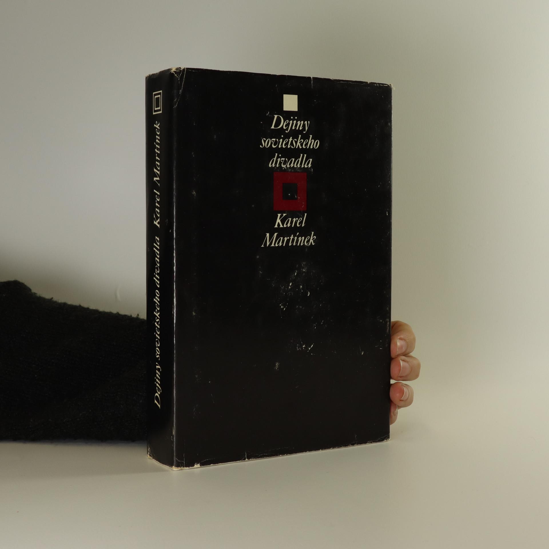 antikvární kniha Dejiny sovietskeho divadla. 1917-1945, 1980