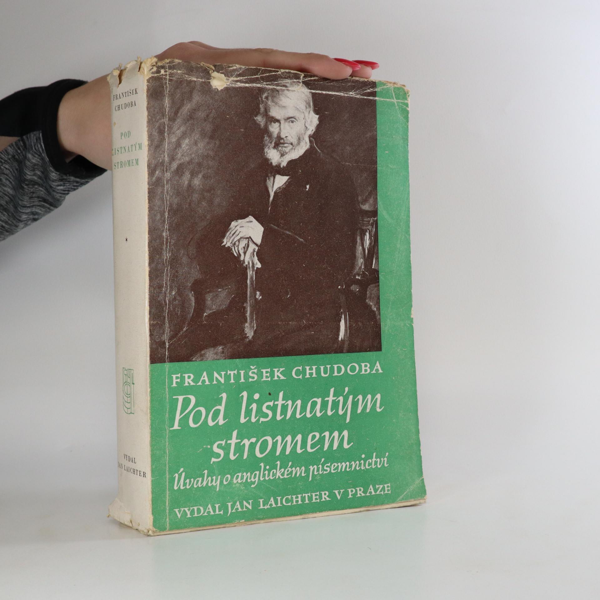 antikvární kniha Pod listnatým stromem. Úvahy o anglickém písemnictví, 1947