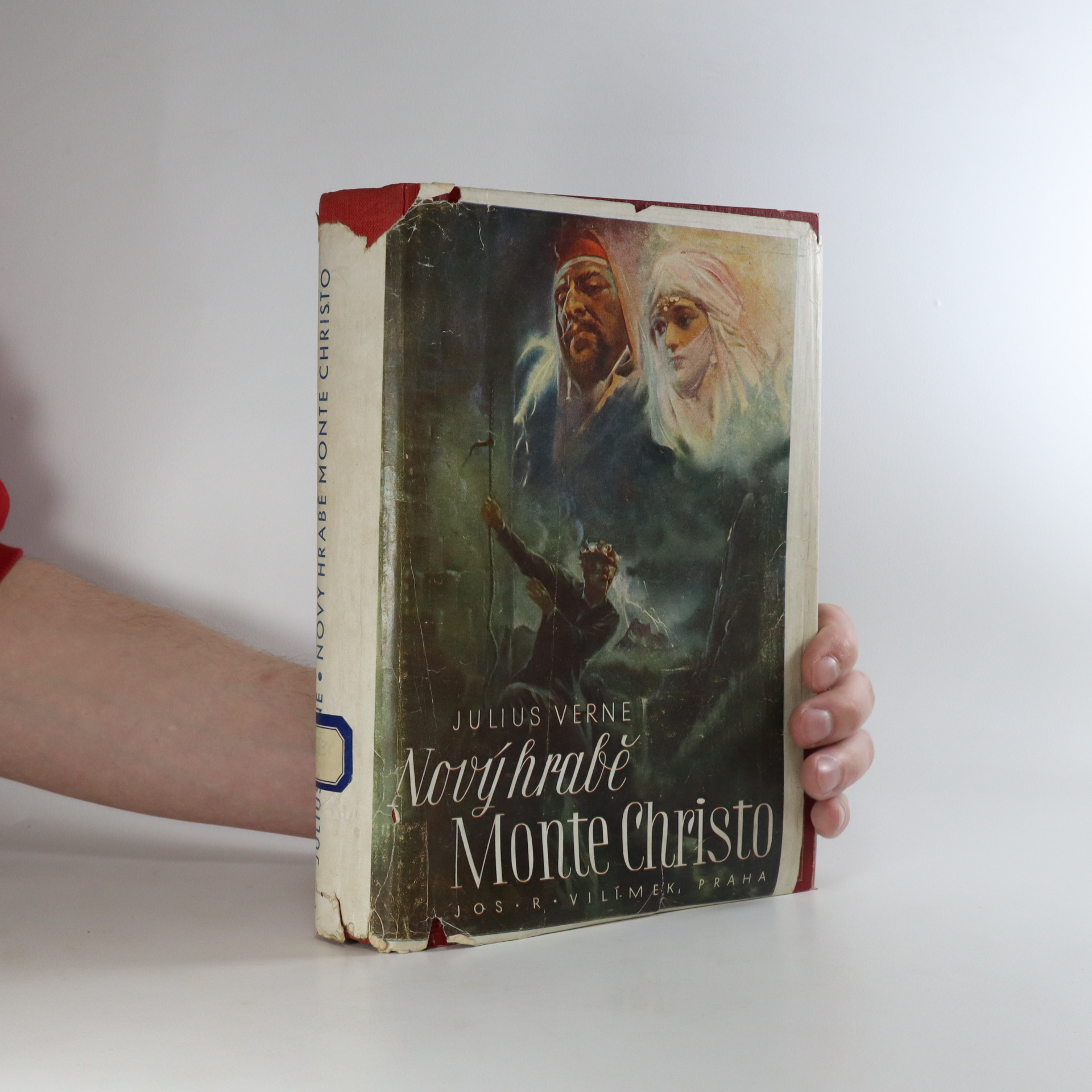 antikvární kniha Nový hrabě Monte Christo (potrhaný přebal), 1941