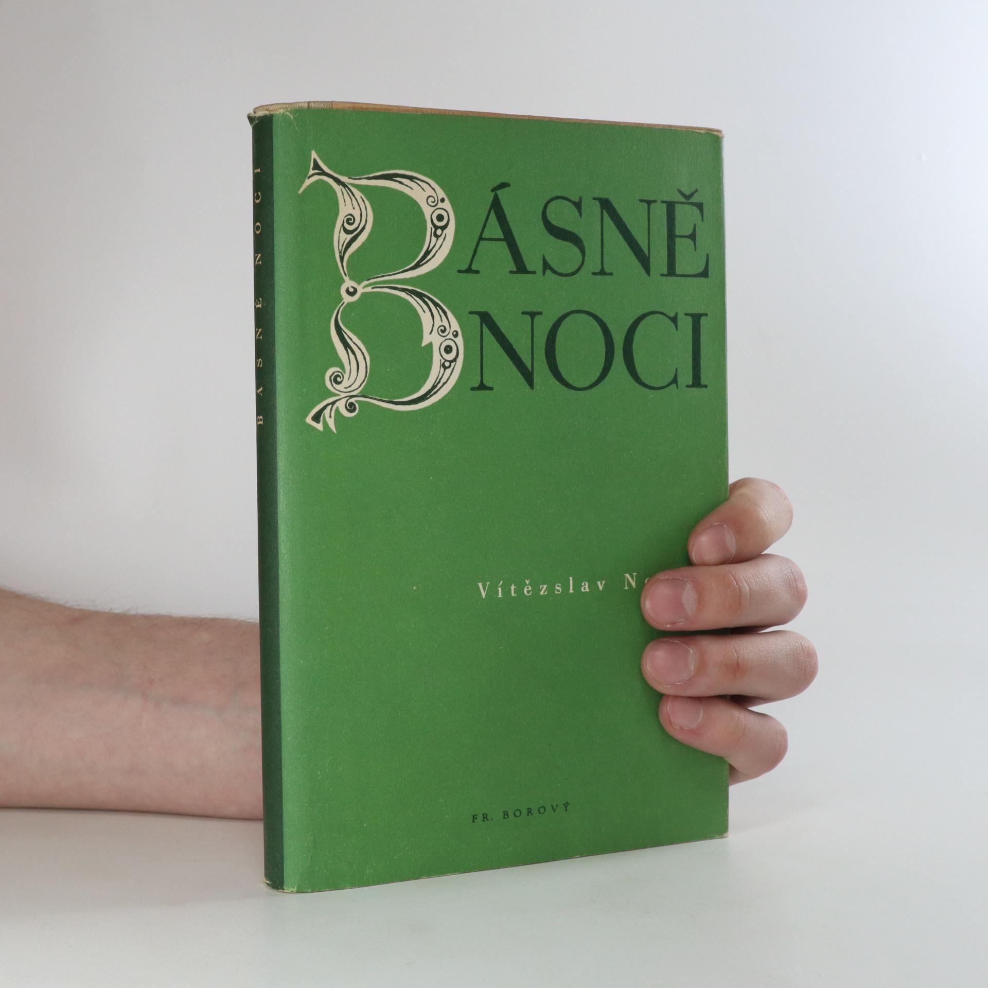 antikvární kniha Básně noci, 1948