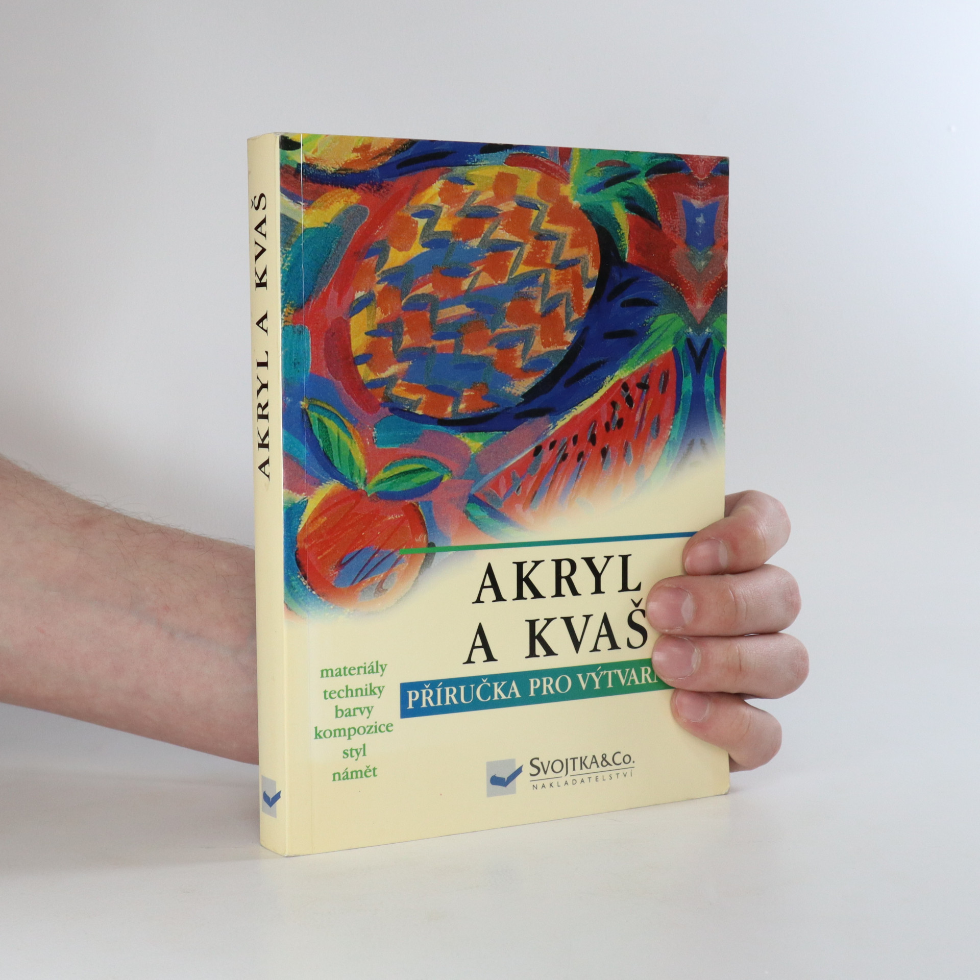 antikvární kniha Akryl a kvaš, 2004