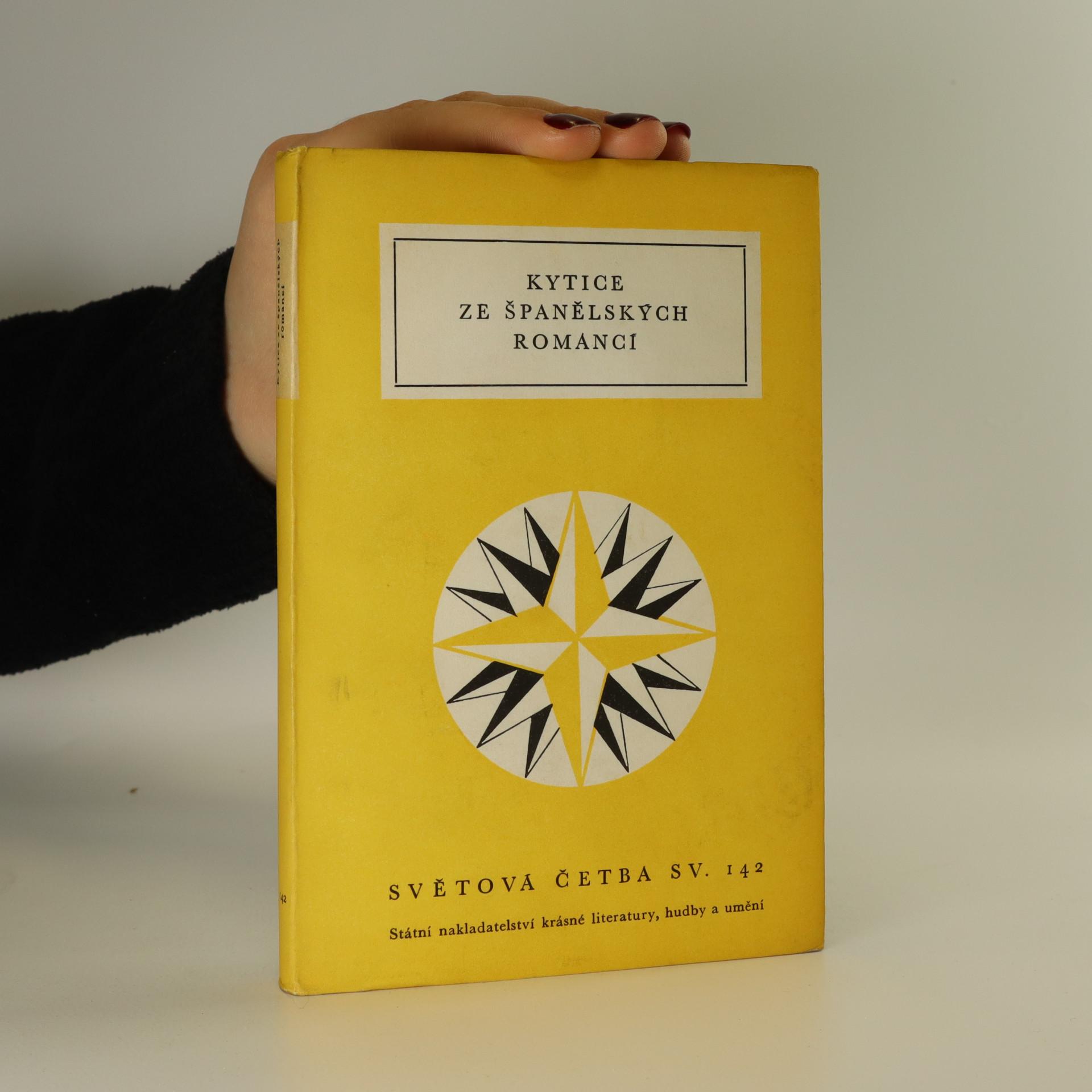 antikvární kniha Kytice ze španělských romancí, 1957