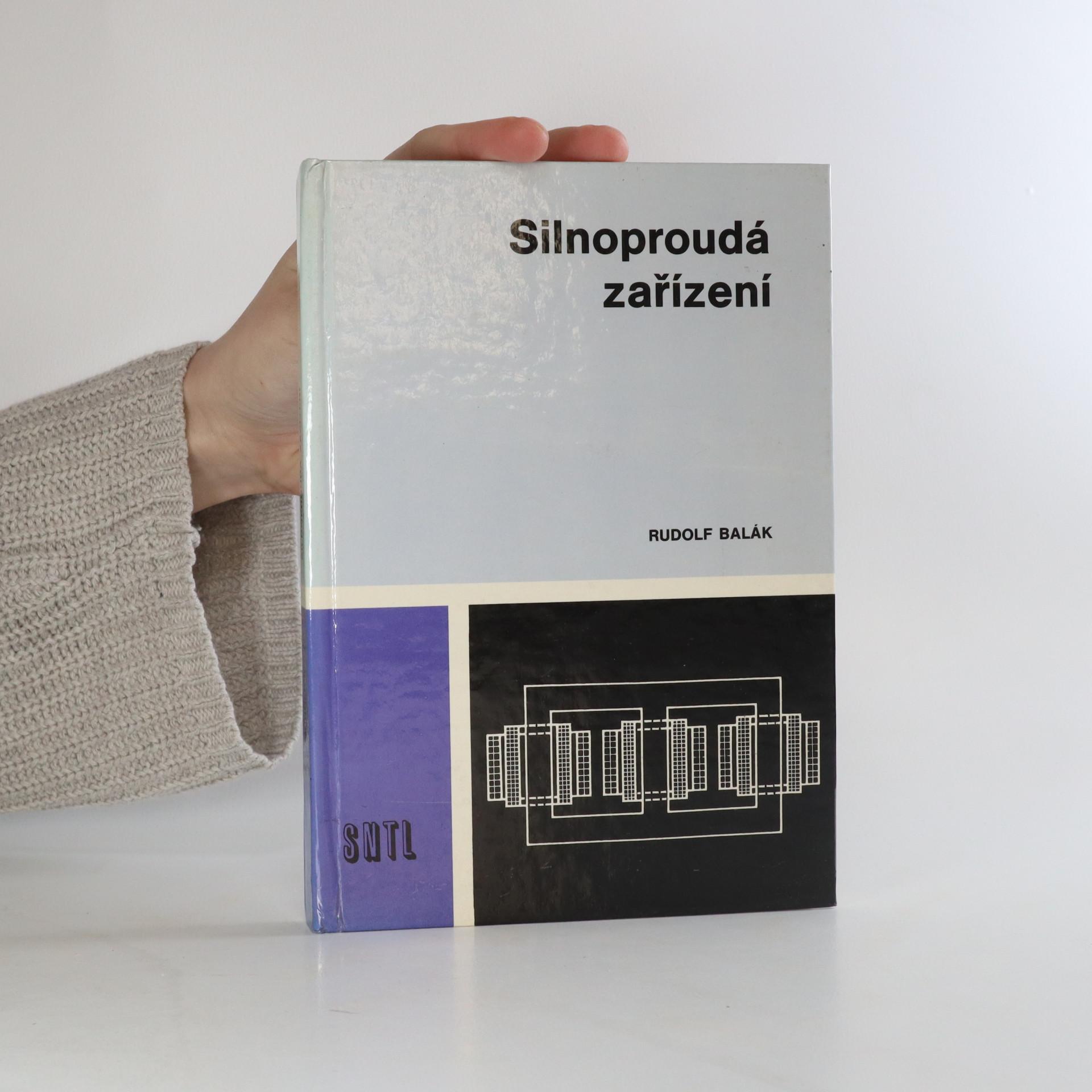 antikvární kniha Silnoproudá zařízení, 1987