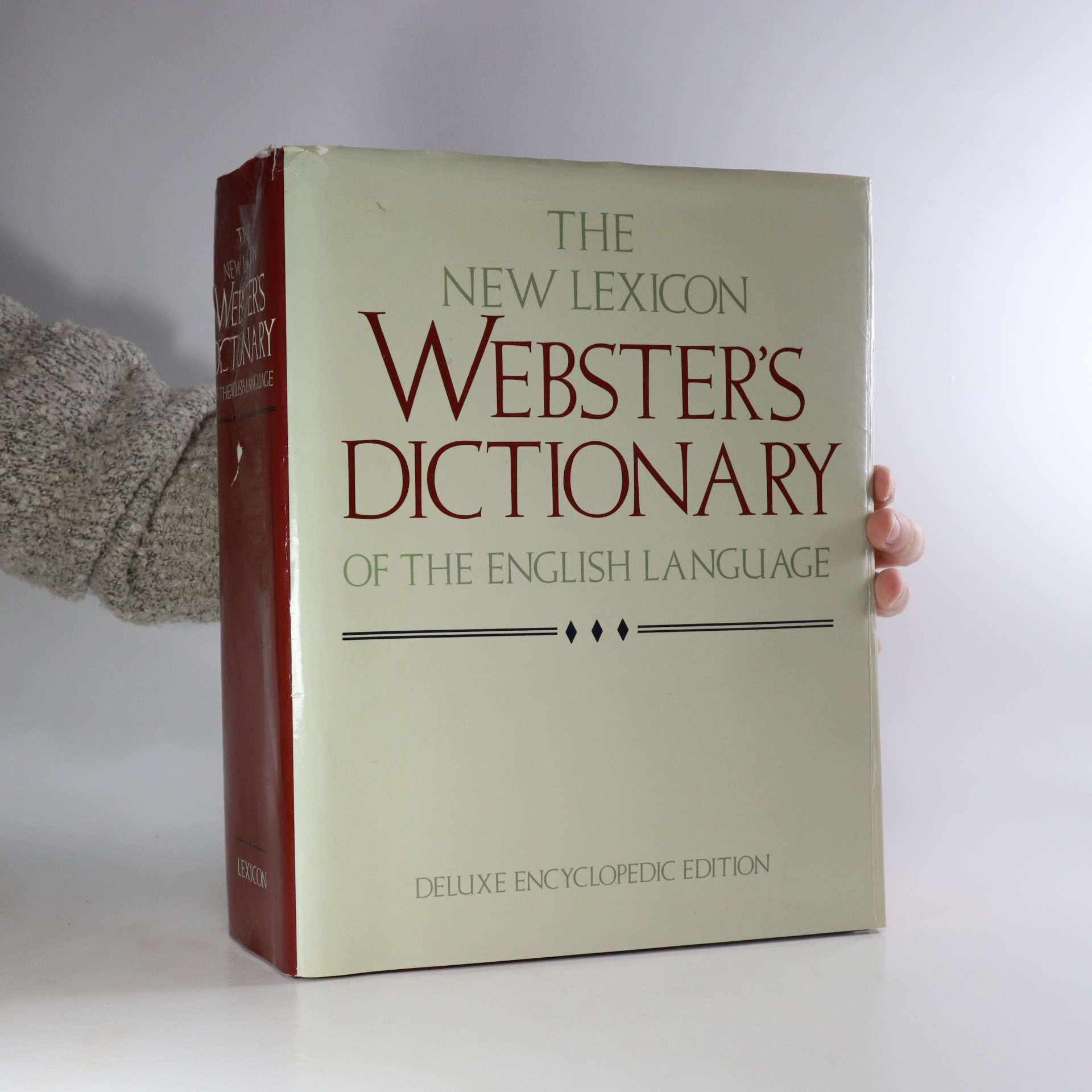 antikvární kniha The New Lexicon Webster's Dictionary of the English Language, 1992