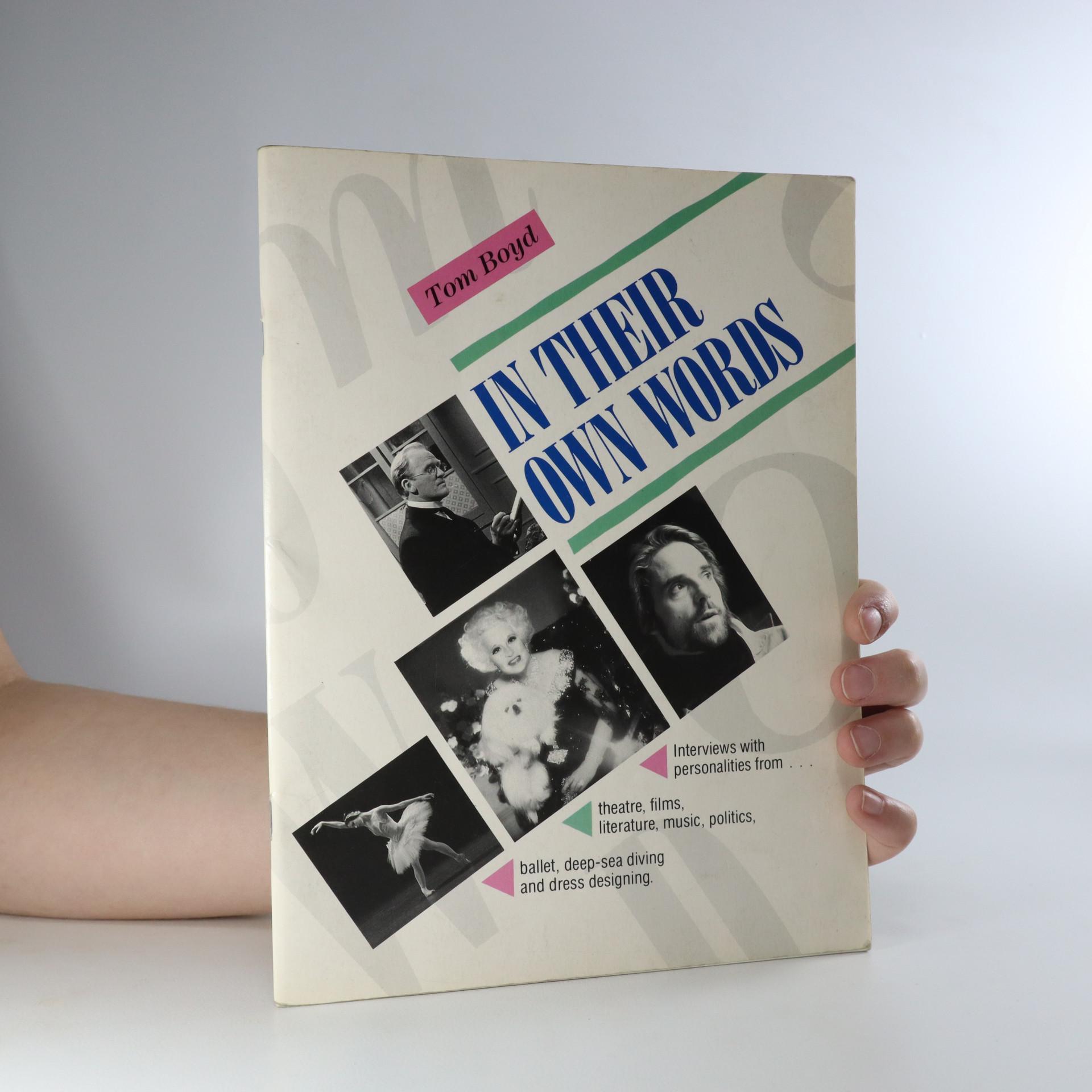 antikvární kniha In their own words, 1988
