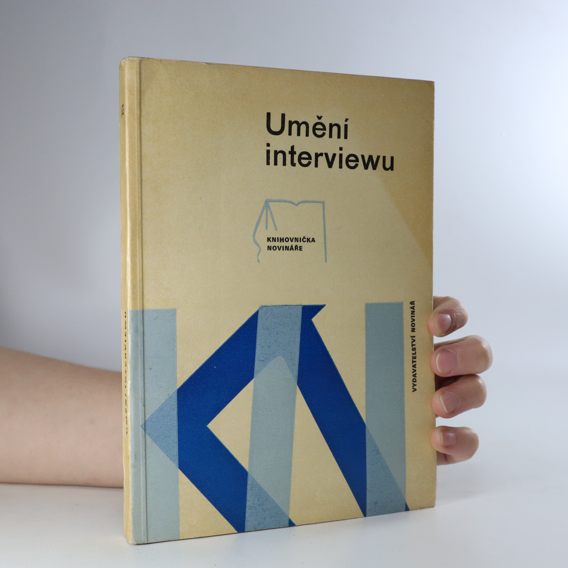 antikvární kniha Umění interviewu (s věnováním autora), 1973