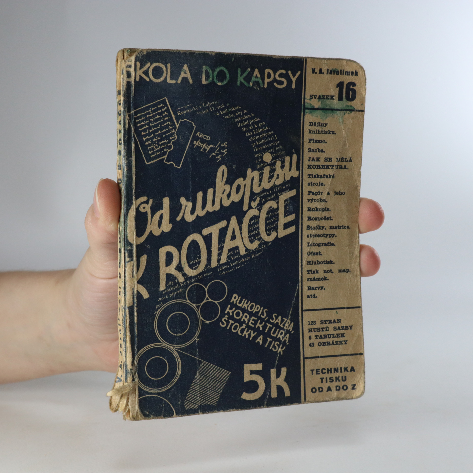 antikvární kniha Od rukopisu k rotačce. Svazek 16, 1941