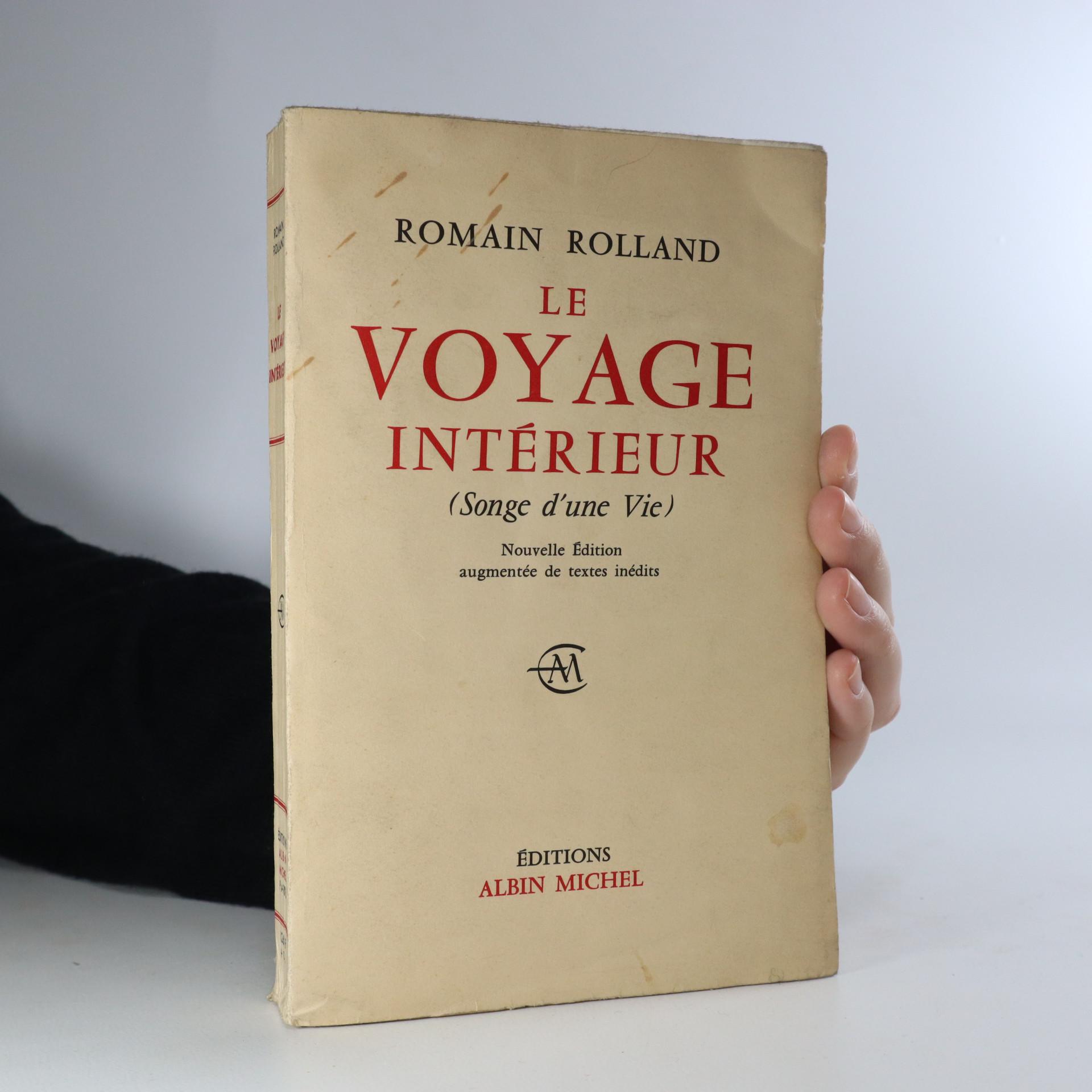 antikvární kniha Le Voyage Intérieur, 1959