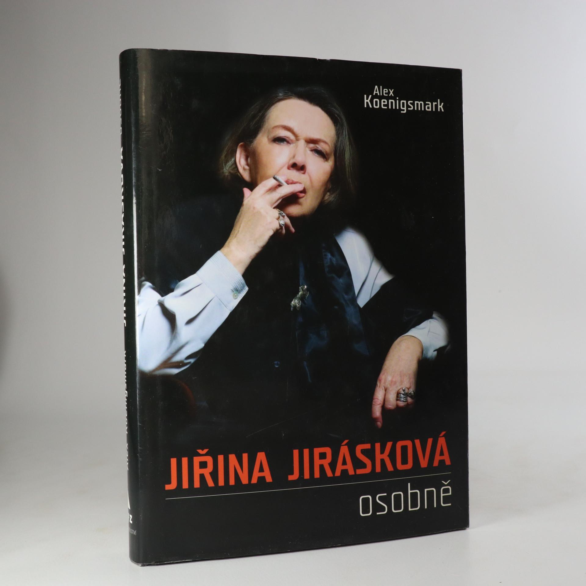 antikvární kniha Jiřina Jirásková osobně, 2008