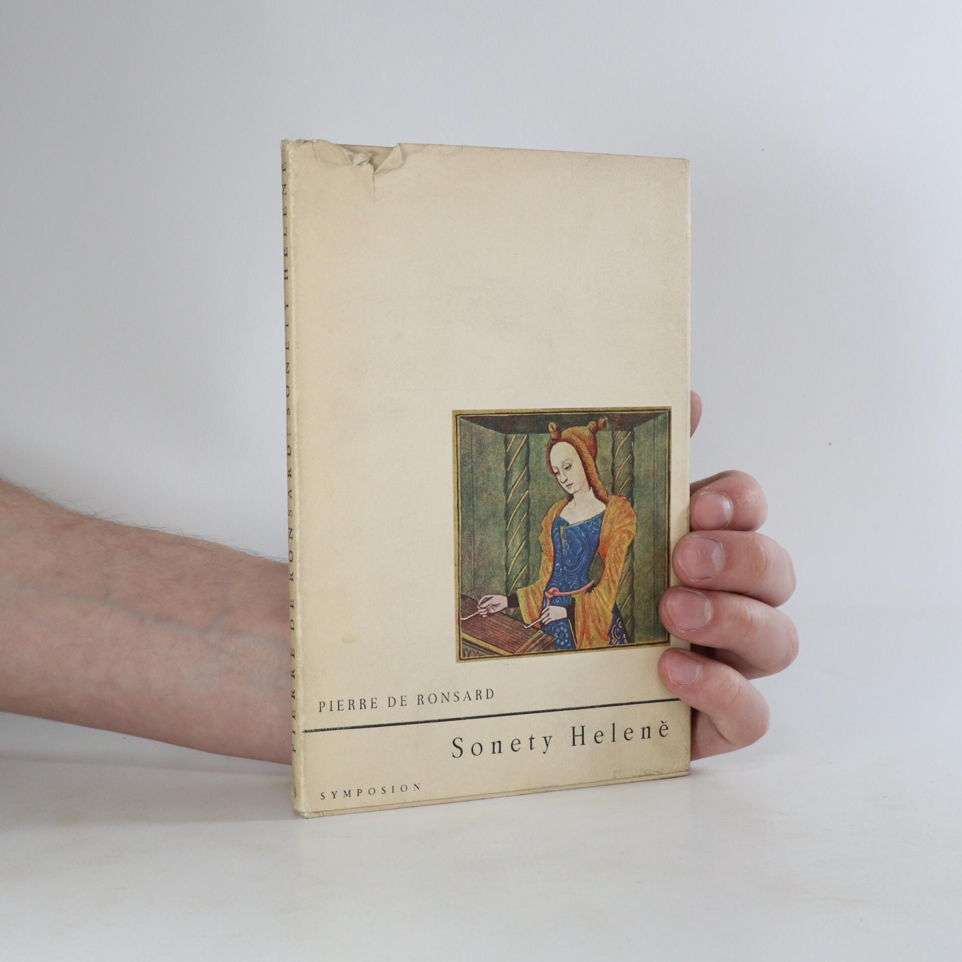 antikvární kniha Sonety Heleně, 1948