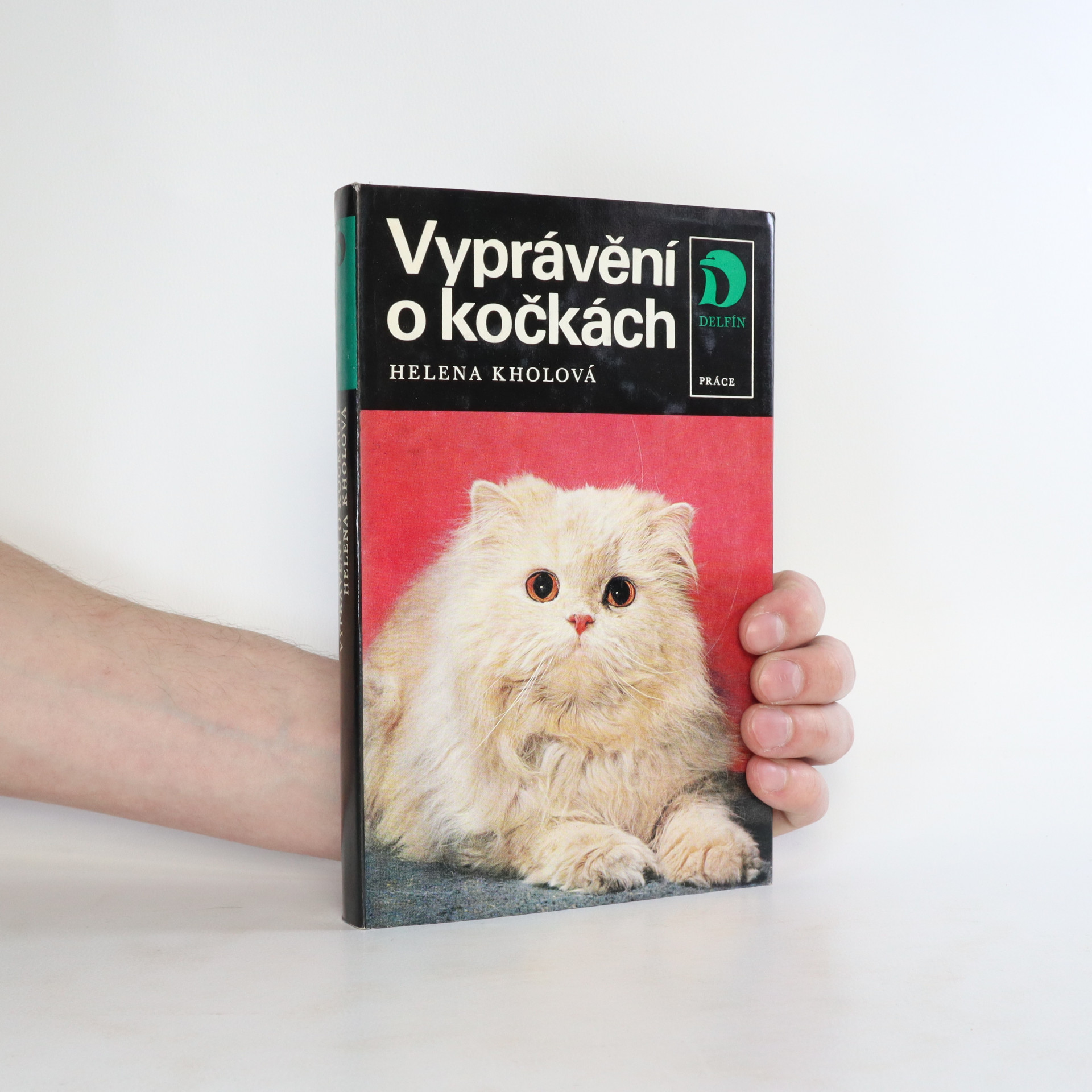 antikvární kniha Vyprávění o kočkách, 1975