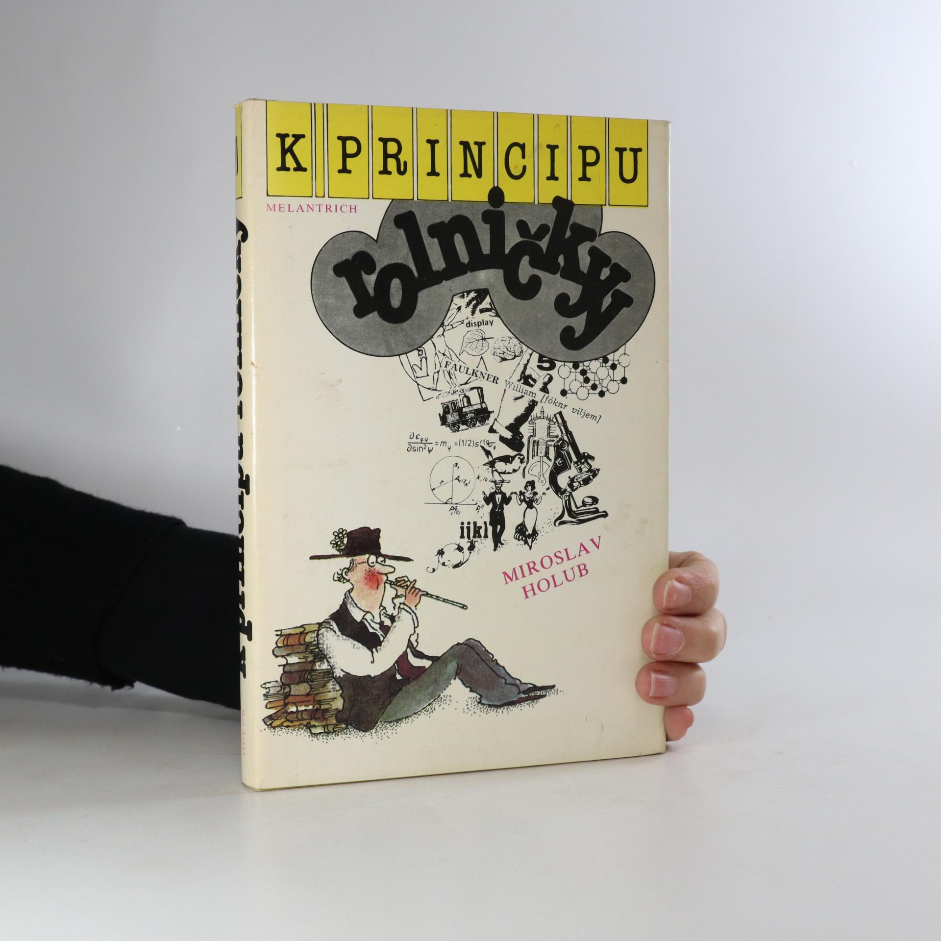antikvární kniha K principu rolničky, 1987