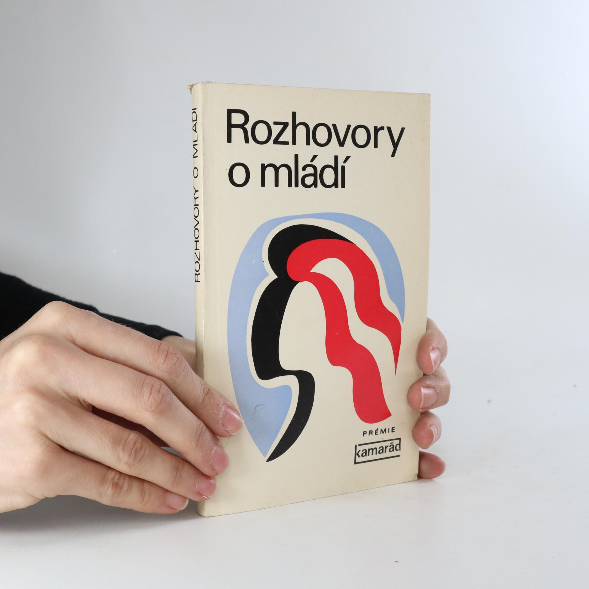 antikvární kniha Rozhovory o mládí, 1977