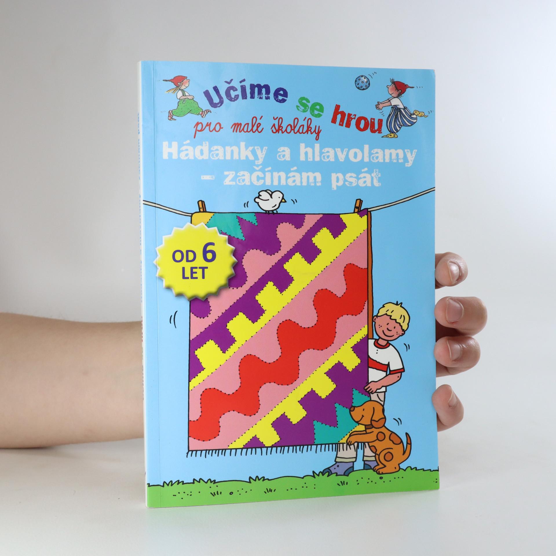 antikvární kniha Hádanky a hlavolamy - začínám psát. Pro malé školáky (částečně vyplněno. viz stav), 2014
