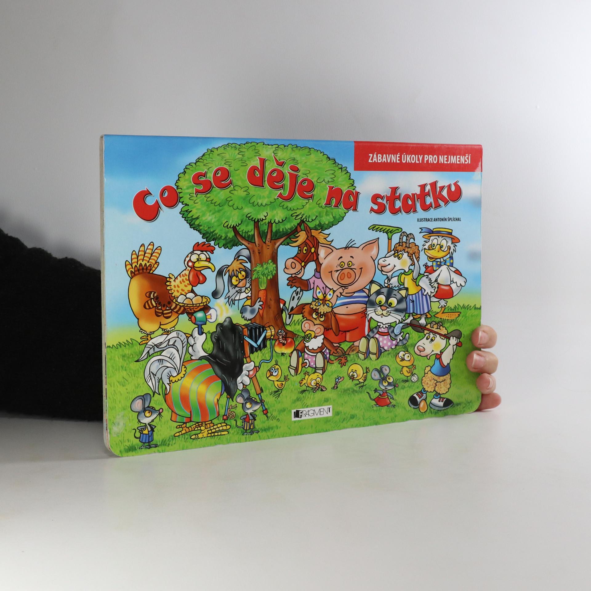 antikvární kniha Co se děje na statku, 2009