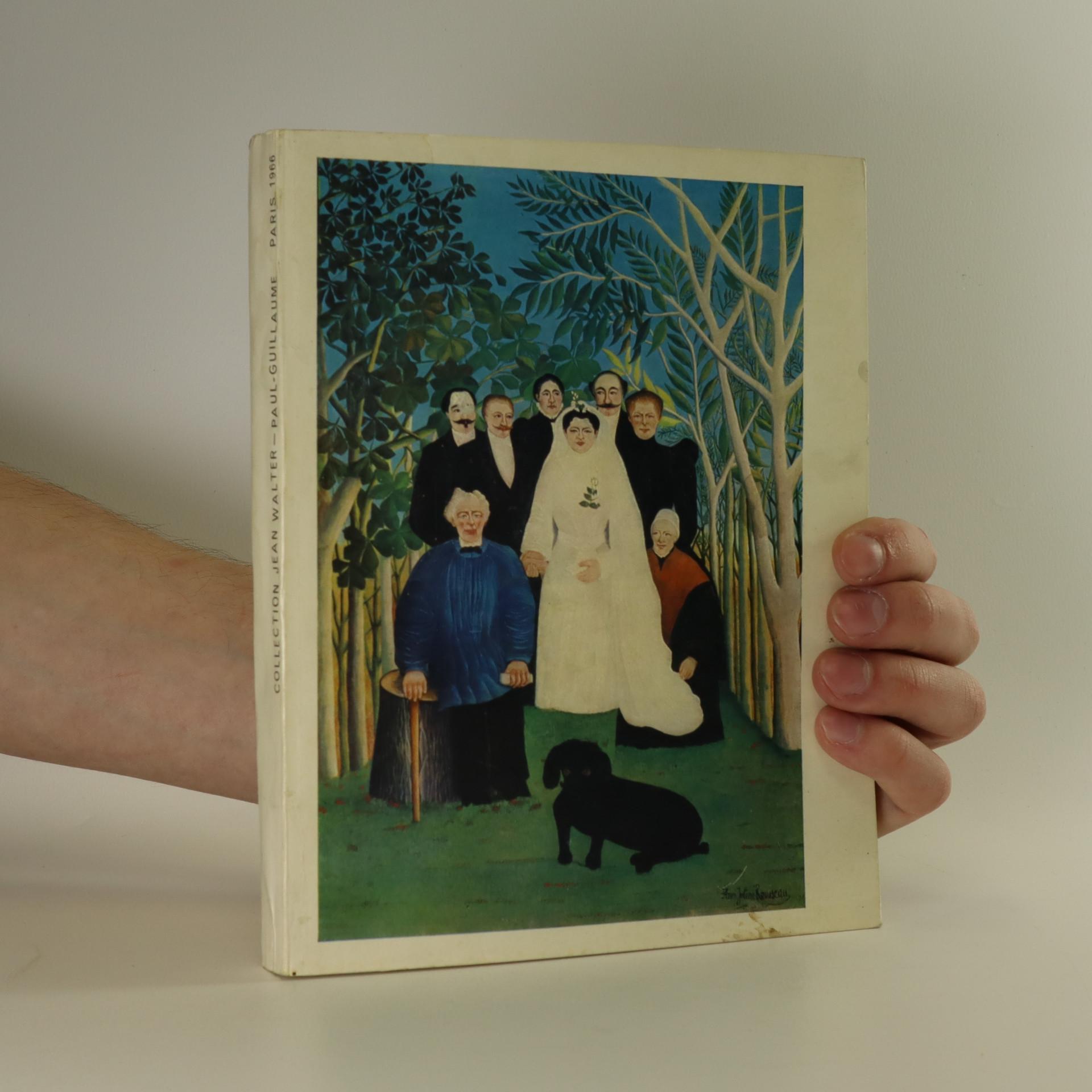 antikvární kniha Collection Jean Walter – Paul-Guillaume, 1966