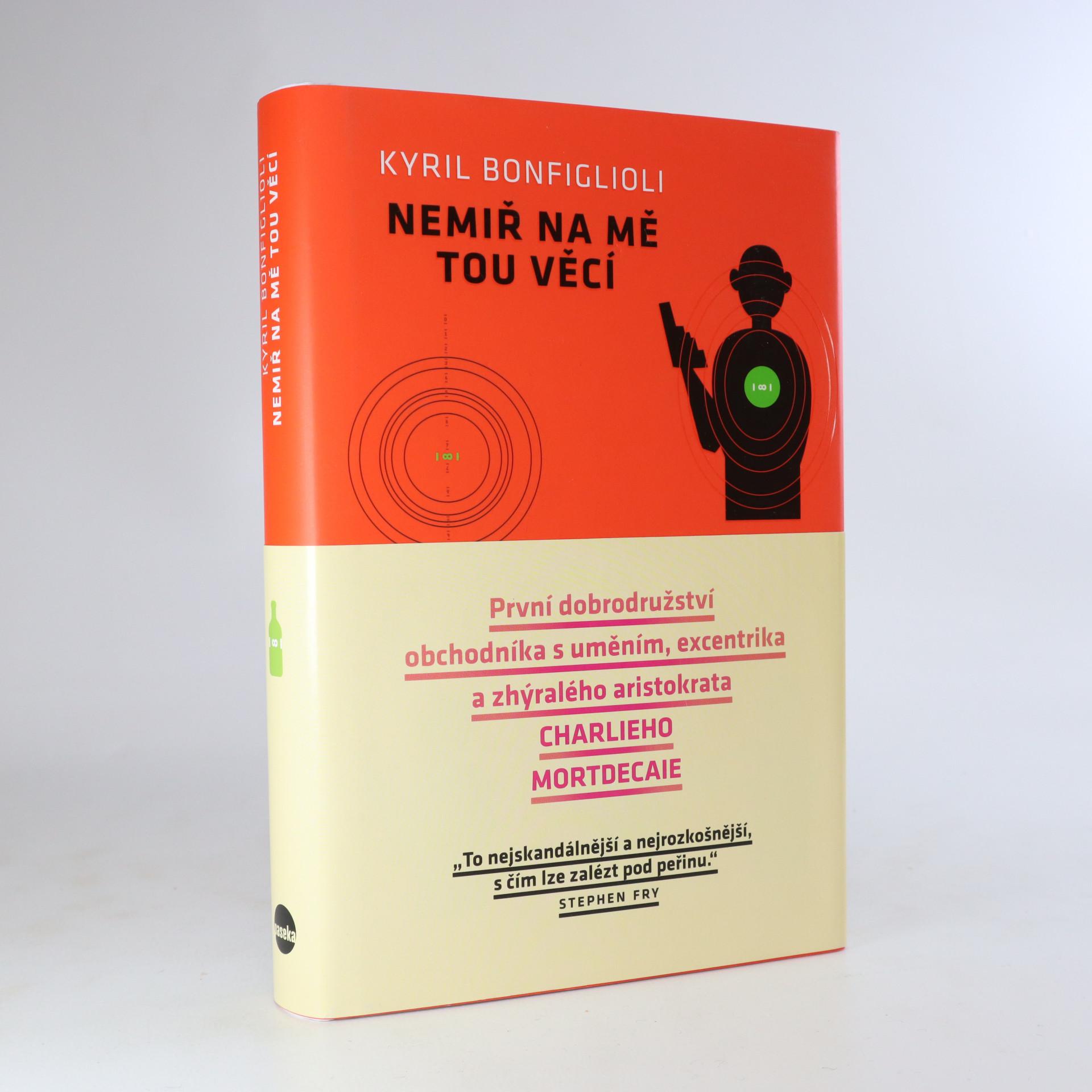 antikvární kniha Nemiř na mě tou věcí, 2015