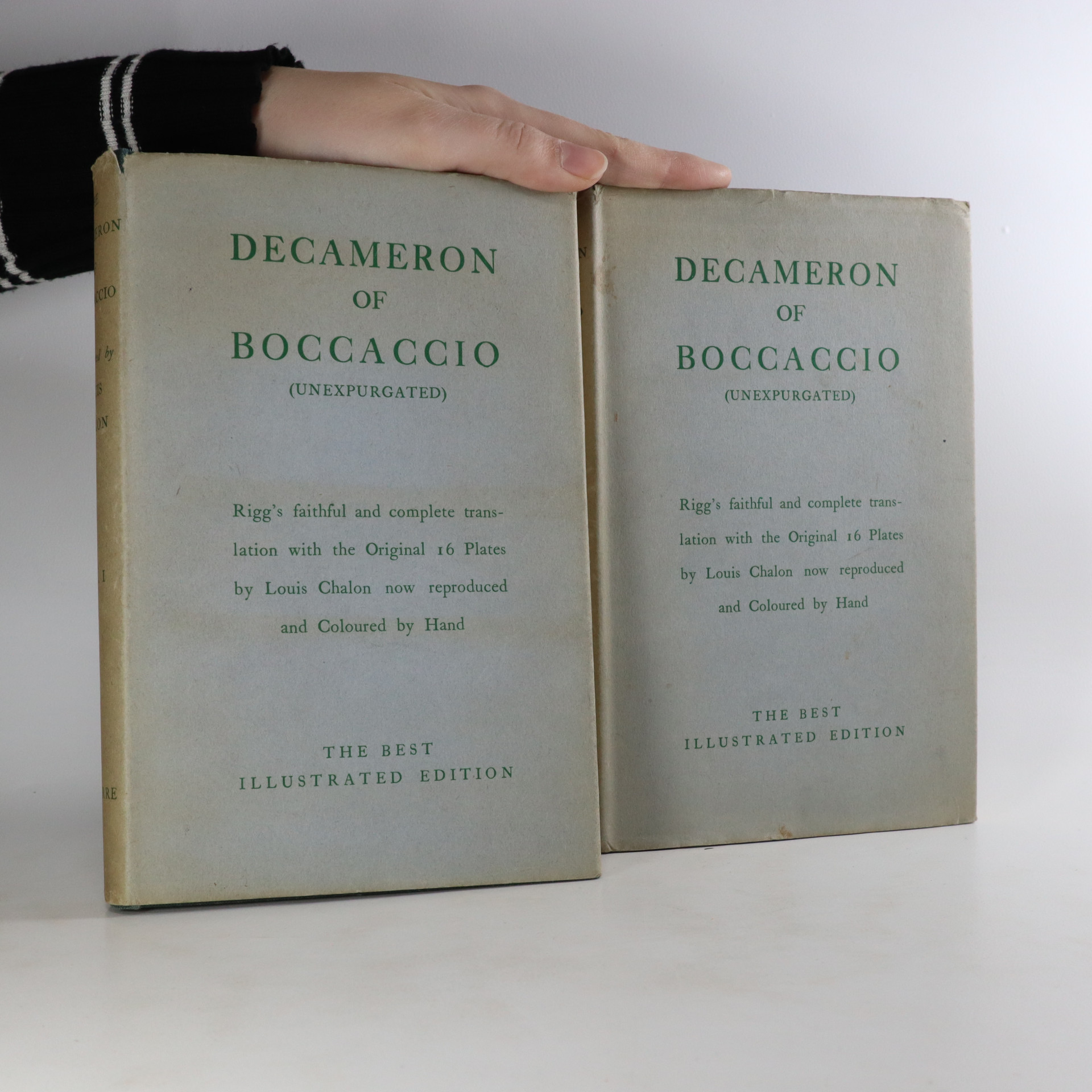antikvární kniha The Decameron (I. and II. volume), neuveden